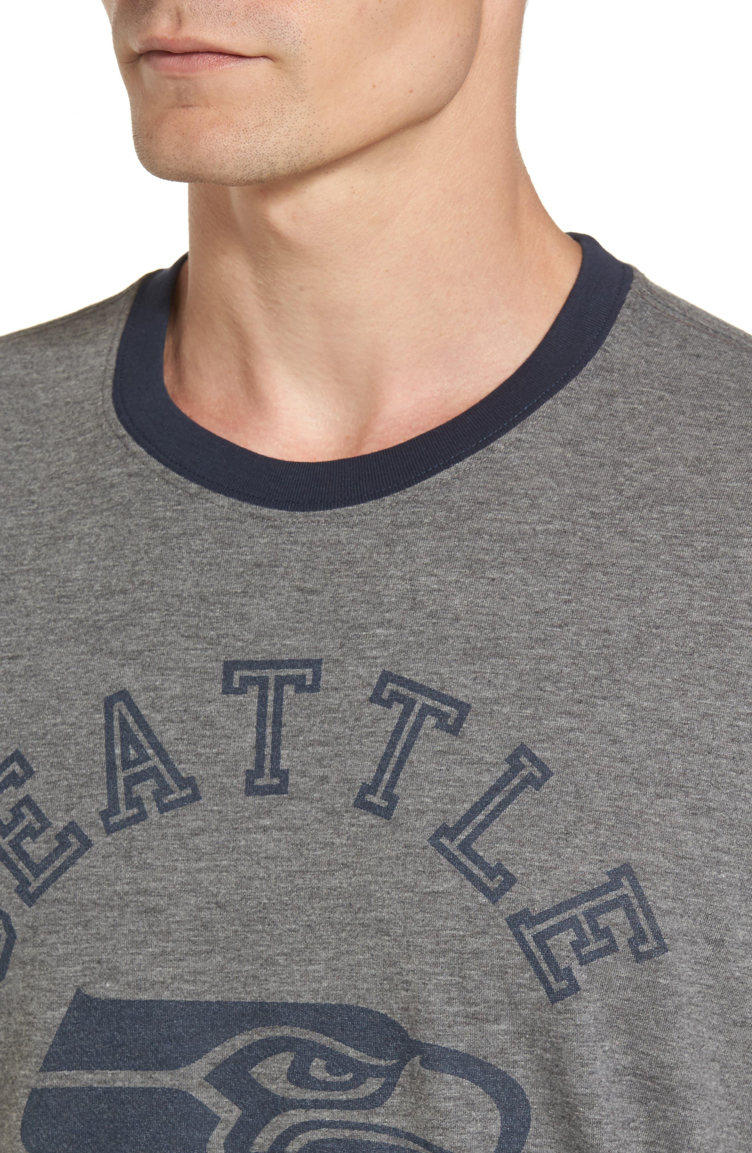Alternate Image 4  - '47 Seattle Seahawks Ringer T-Shirt