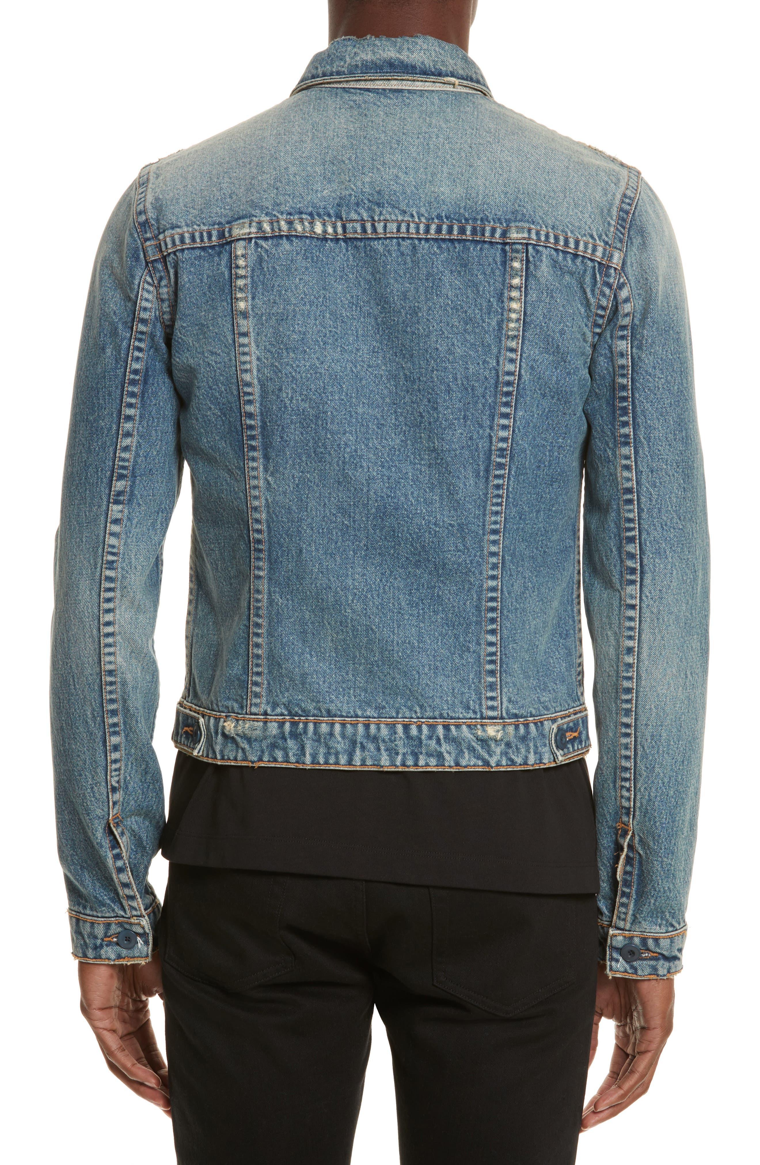 Alternate Image 3  - Helmut Lang Reversible 87 Denim Jacket
