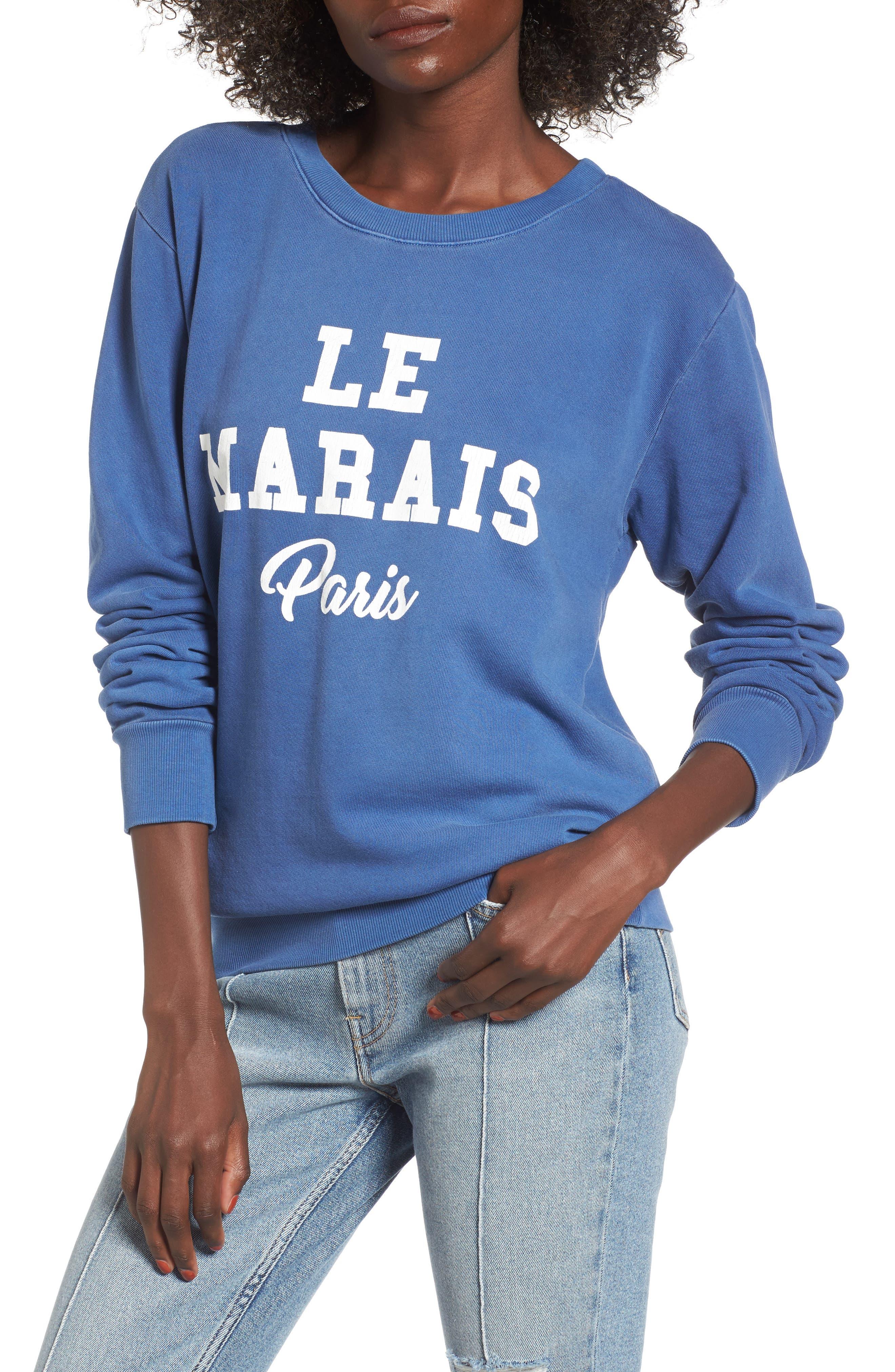 DAYDREAMER Le Marais Paris Graphic Sweatshirt