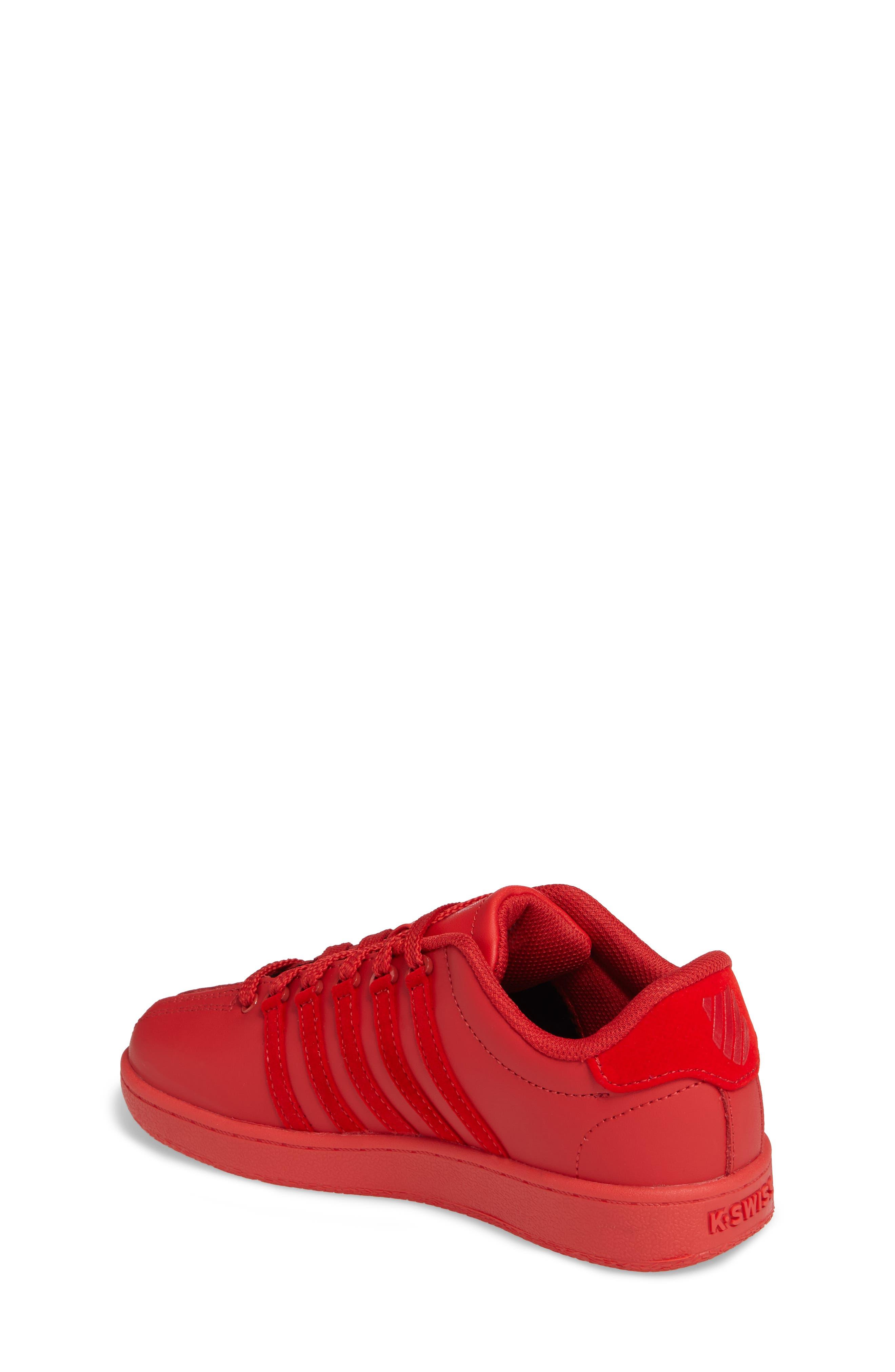 Classic VN Sneaker,                             Alternate thumbnail 2, color,                             Ribbon Red