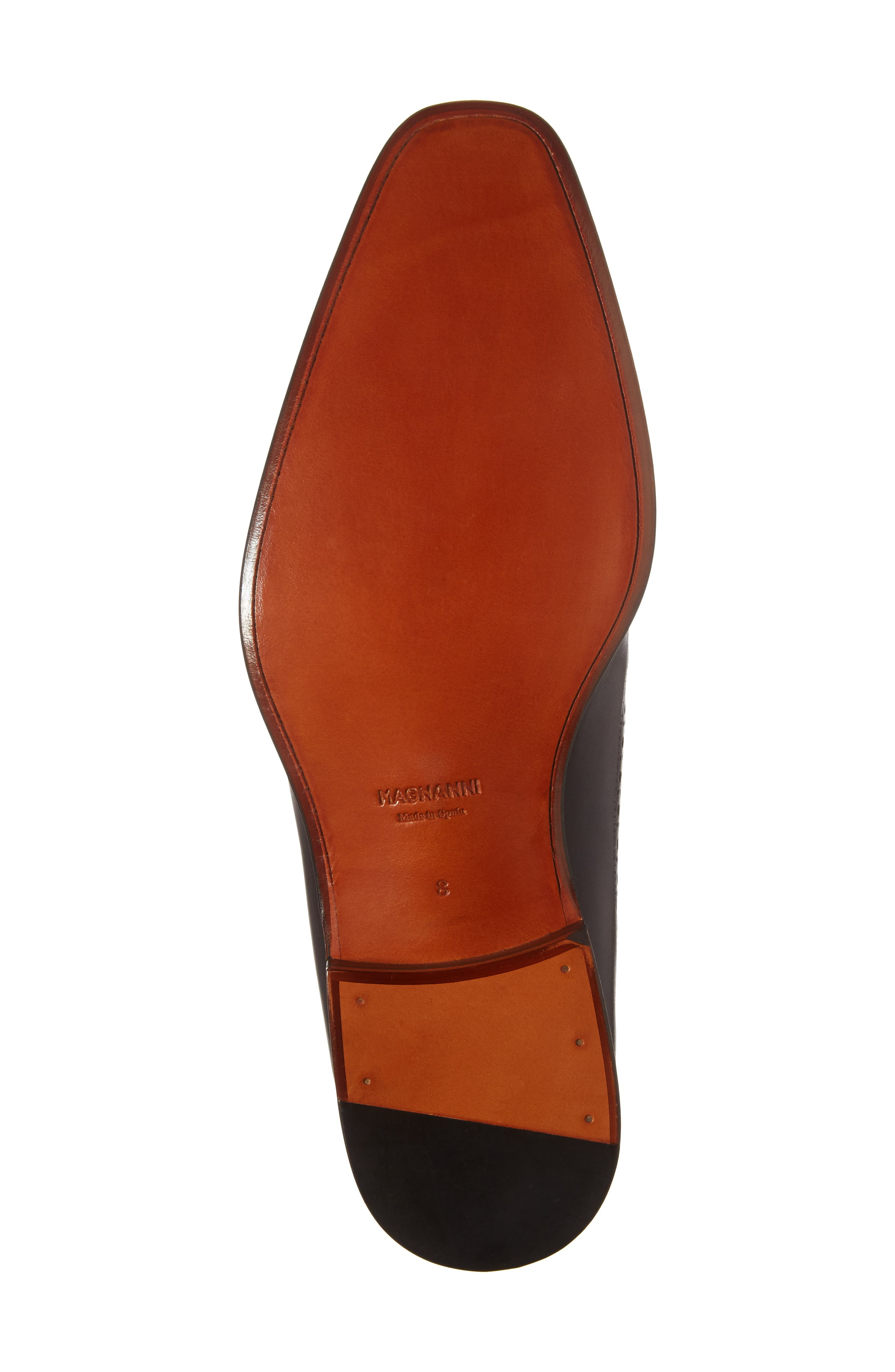 Marbelo Longwing Derby,                             Alternate thumbnail 6, color,                             Brown Leather