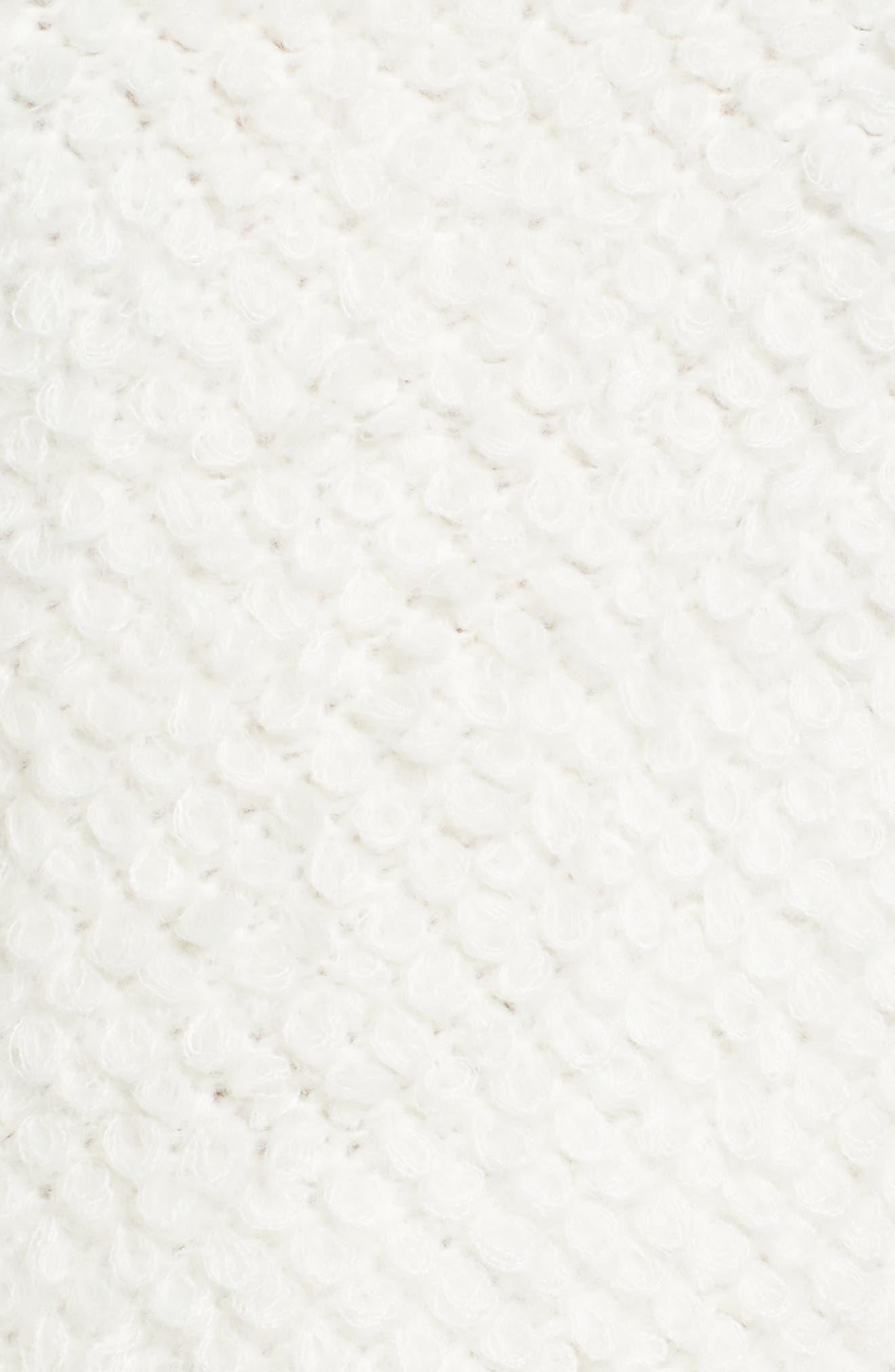 Alternate Image 5  - Caslon® Loop Stitch Crewneck Sweater