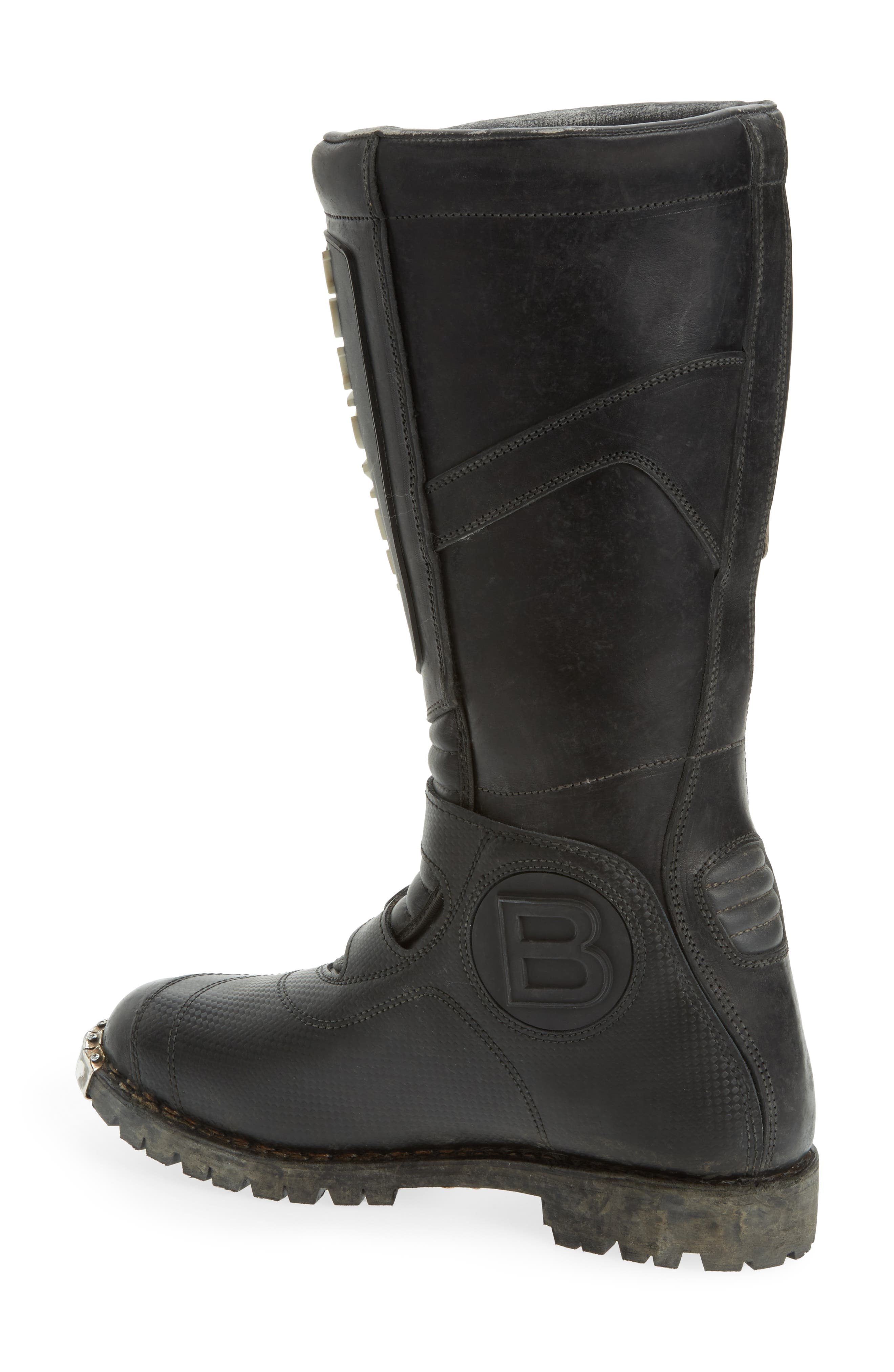 Alternate Image 2  - Balenciaga Moto Strapped Boot (Men)
