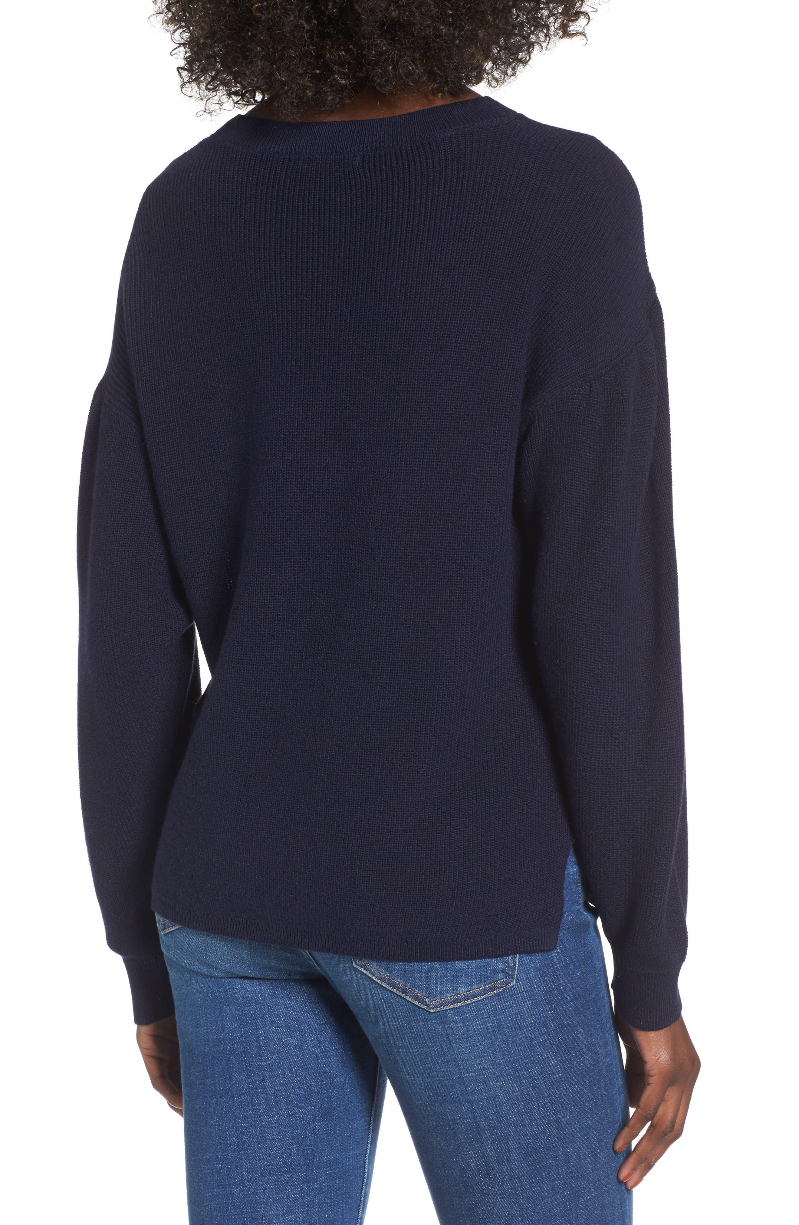 Alternate Image 2  - BP. Drape Sleeve Sweater