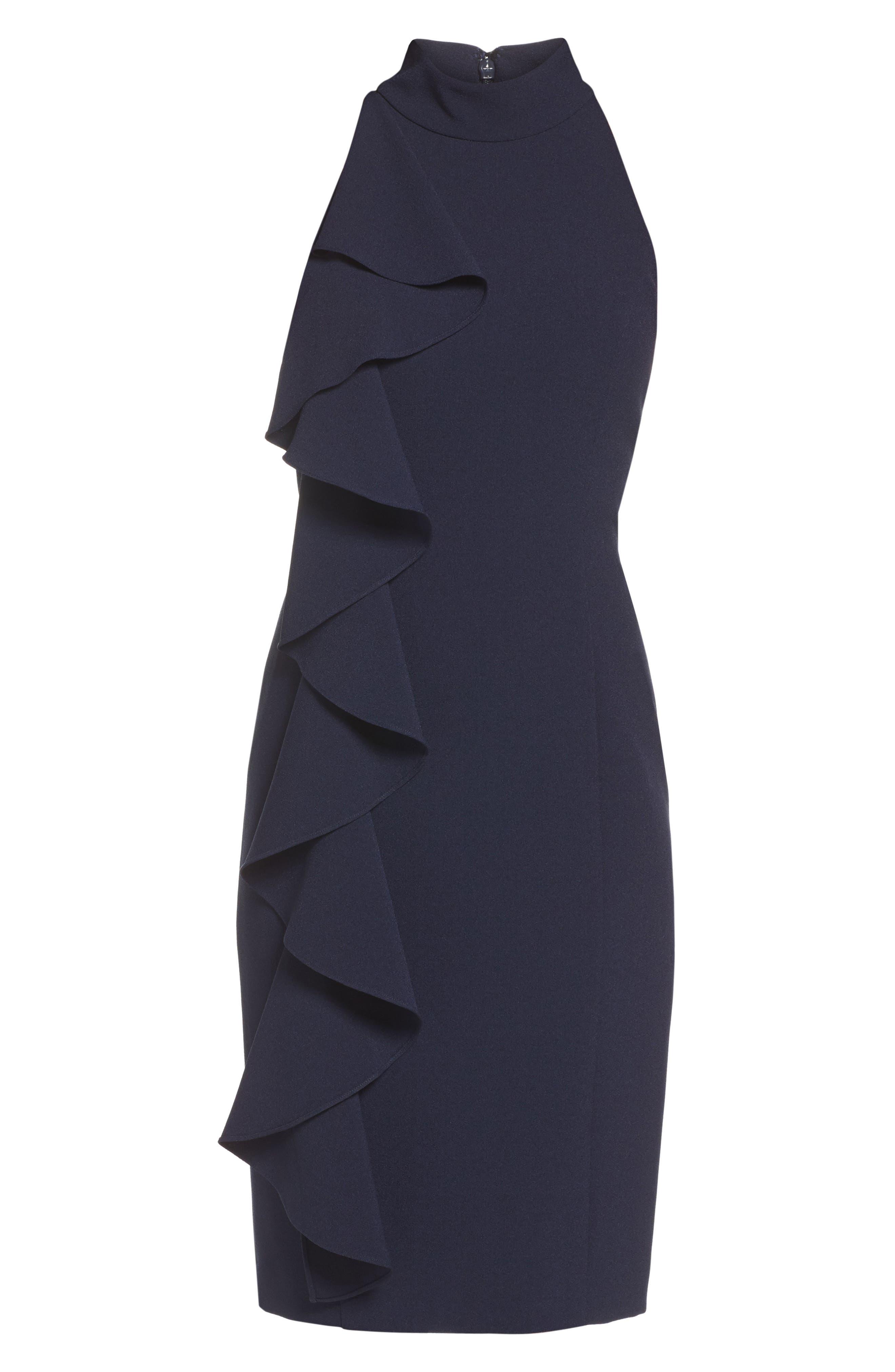 Alternate Image 6  - Eliza J Ruffle Sheath Dress