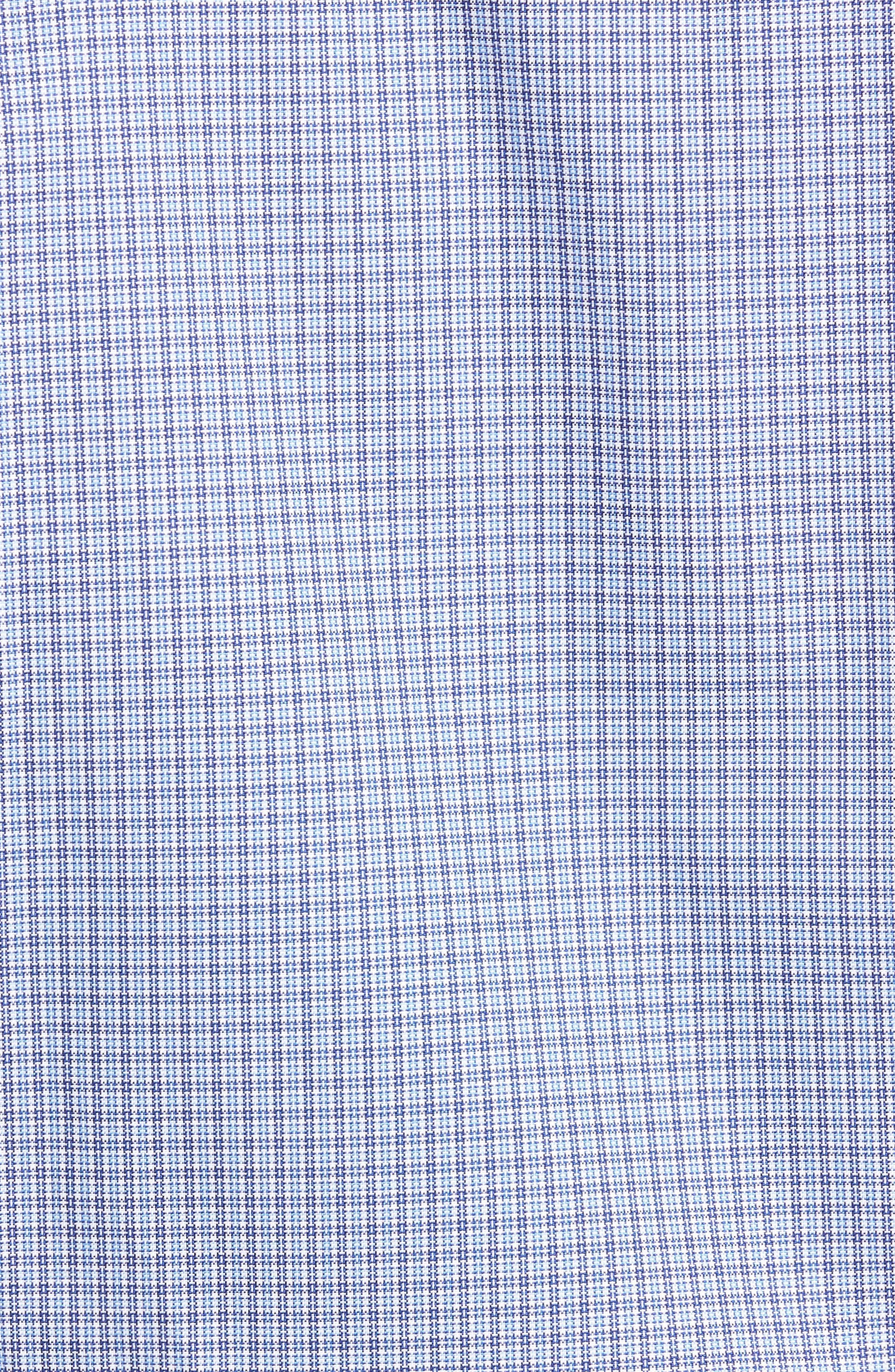 Alternate Image 5  - David Donahue Regular Fit Plaid Sport Shirt