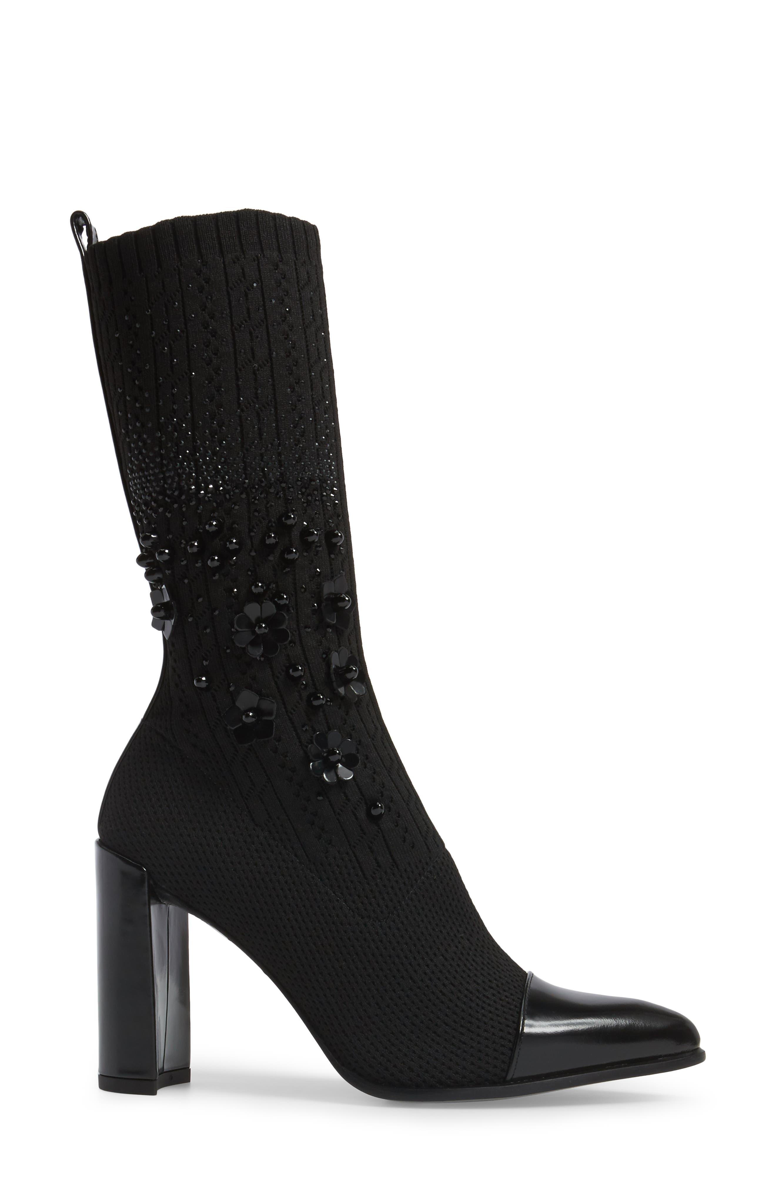 Alternate Image 3  - Stuart Weitzman Sockhop Embellished Boot (Women)