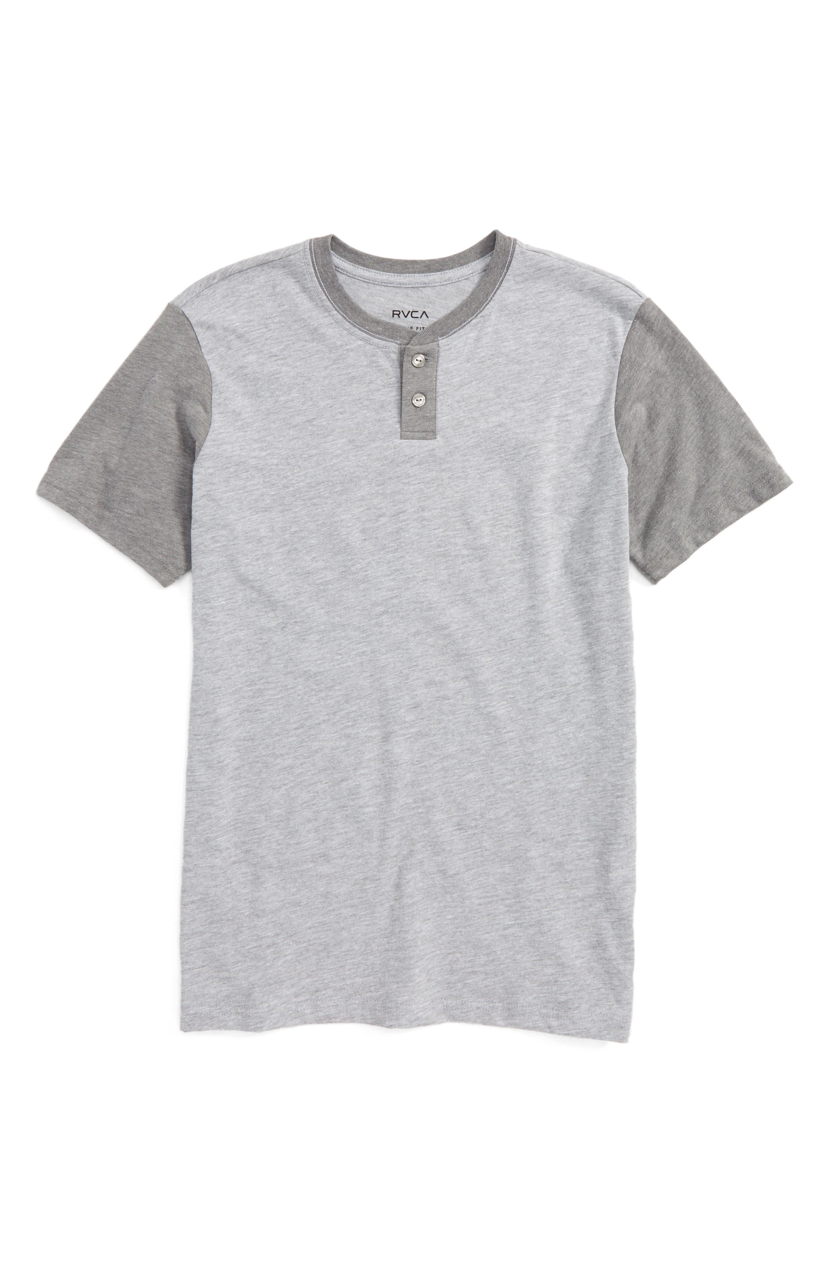 RVCA Pick Up Henley T-Shirt (Big Boys)