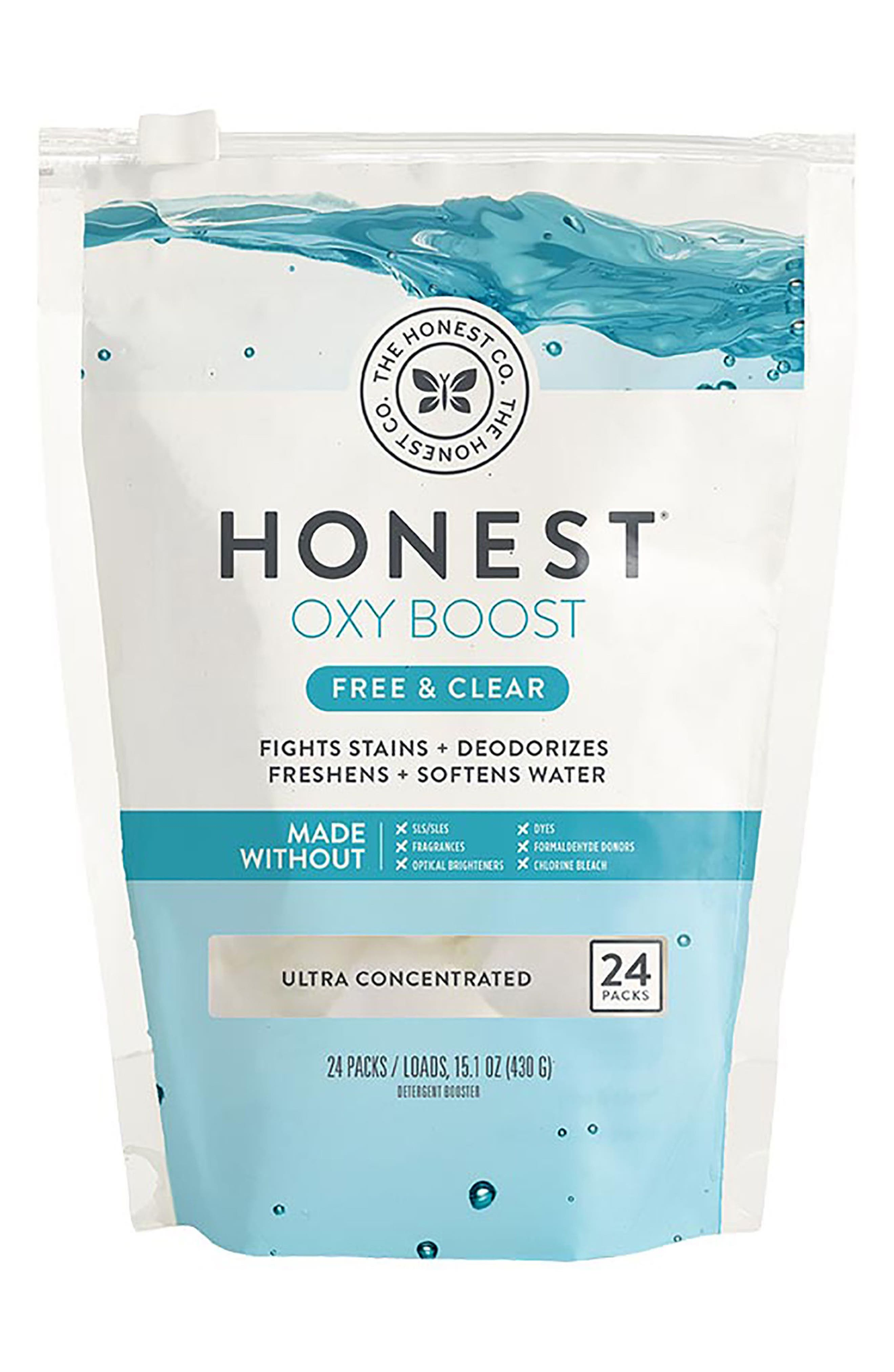 Main Image - The Honest Company Free & Clear Oxy Boost Detergent Booster