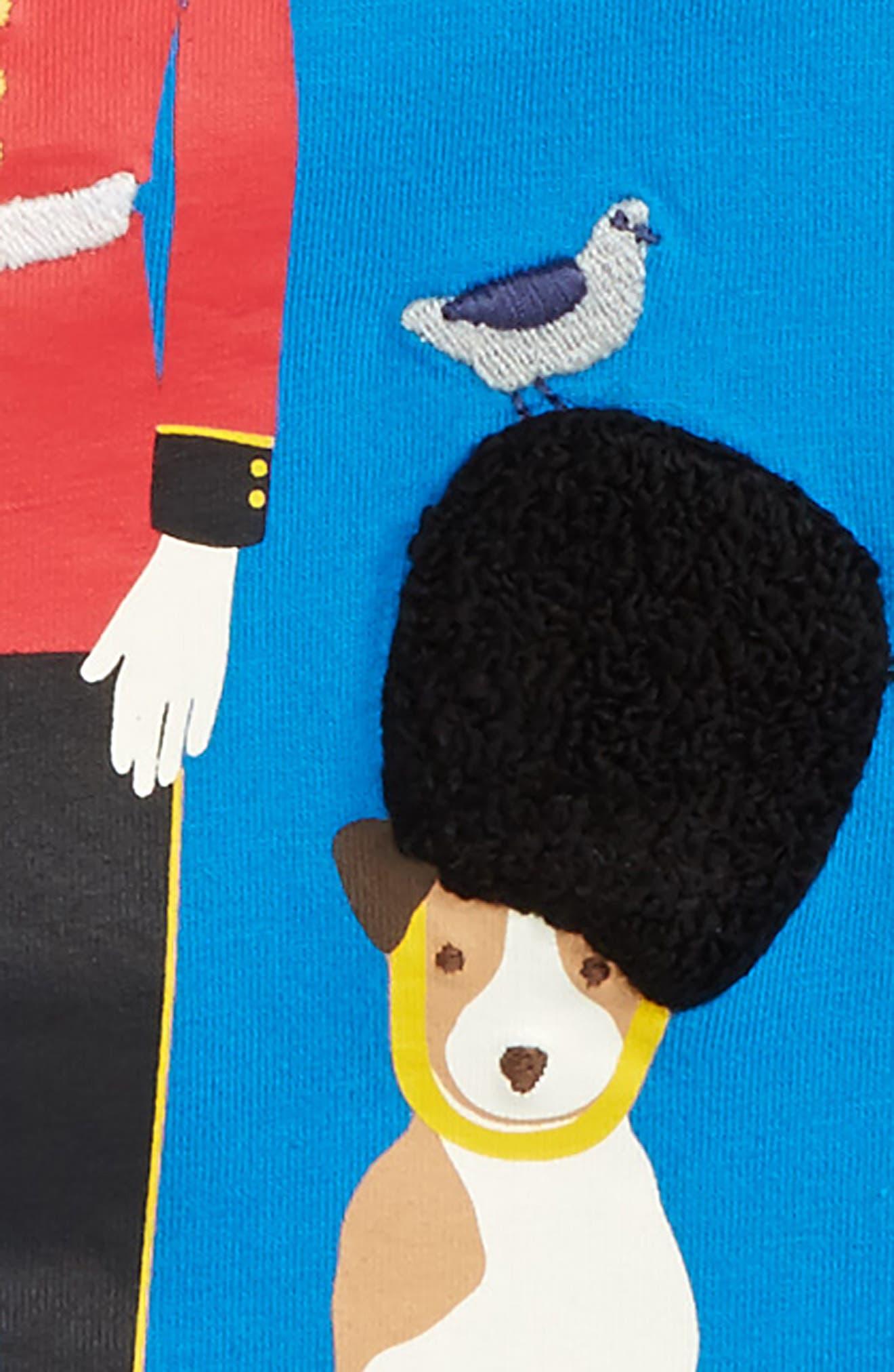 Alternate Image 2  - Mini Boden Great British Guard Graphic T-Shirt (Toddler Boys, Little Boys & Big Boys)
