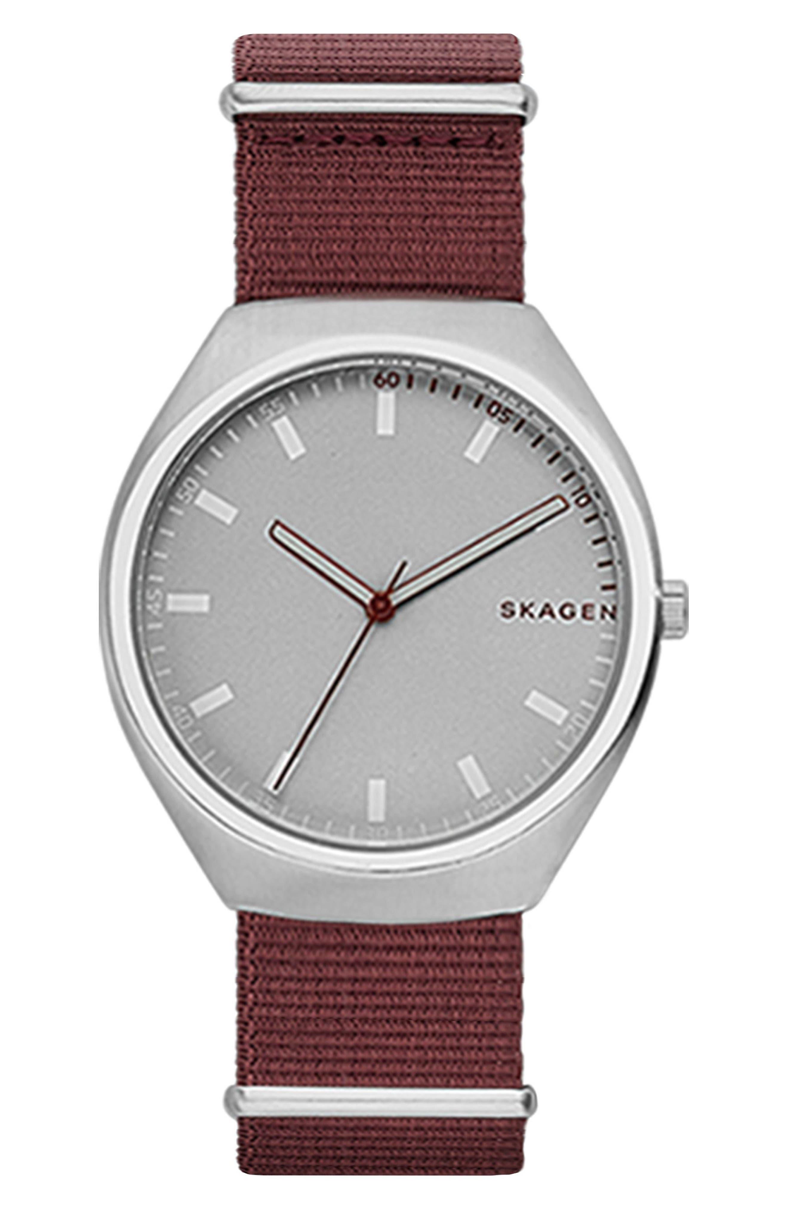 Skagen Grenen NATO Strap Watch, 40mm
