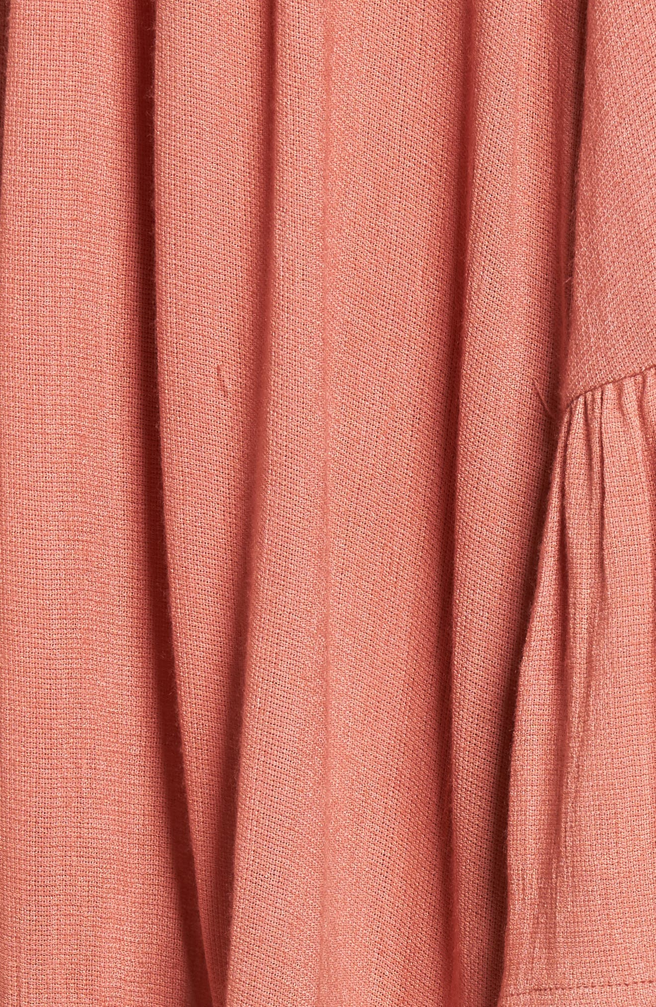 Gimme More Dress,                             Alternate thumbnail 5, color,                             Dusty Rose