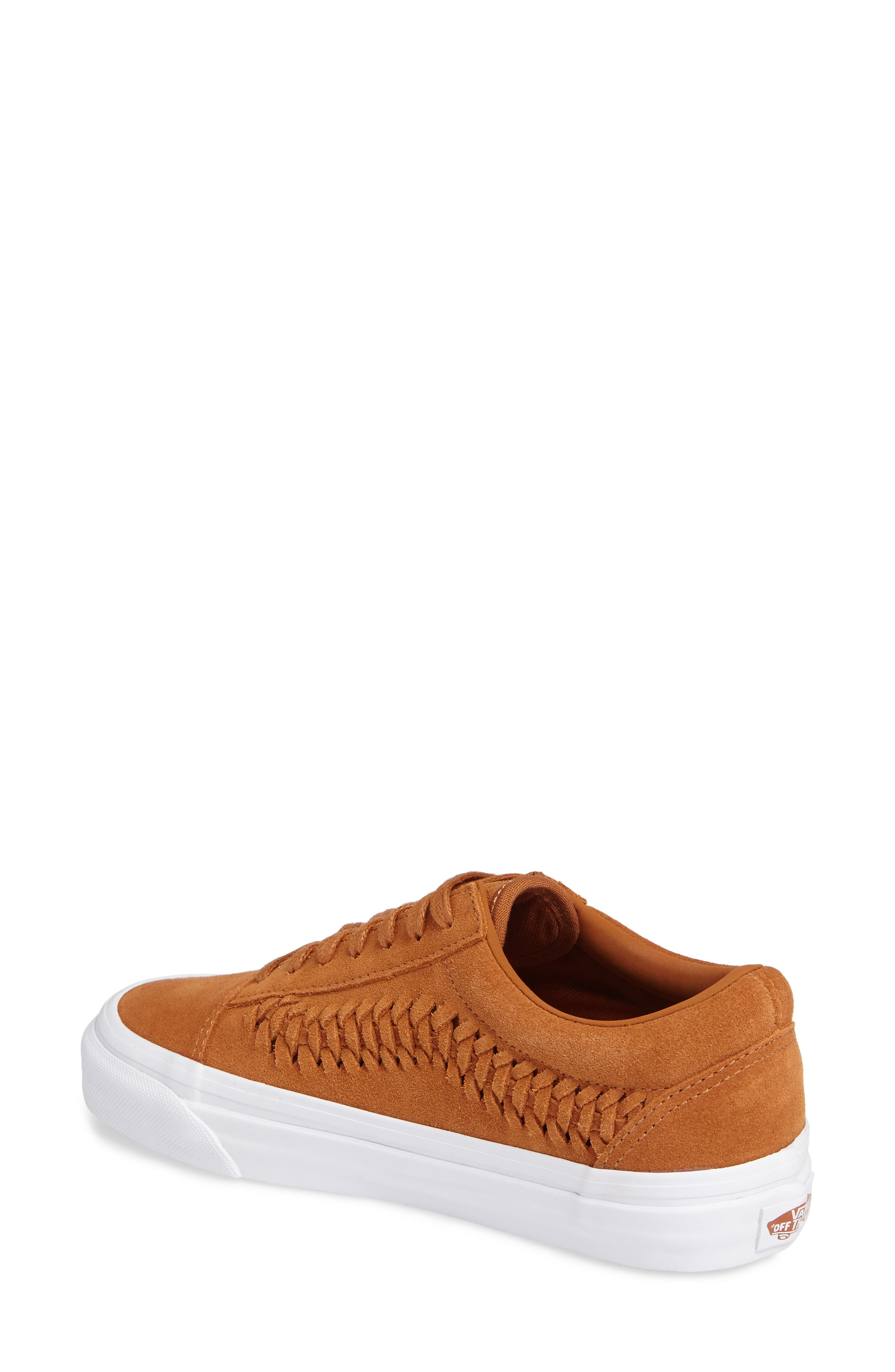 Alternate Image 2  - Vans Old Skool Weave DX Sneaker (Women)