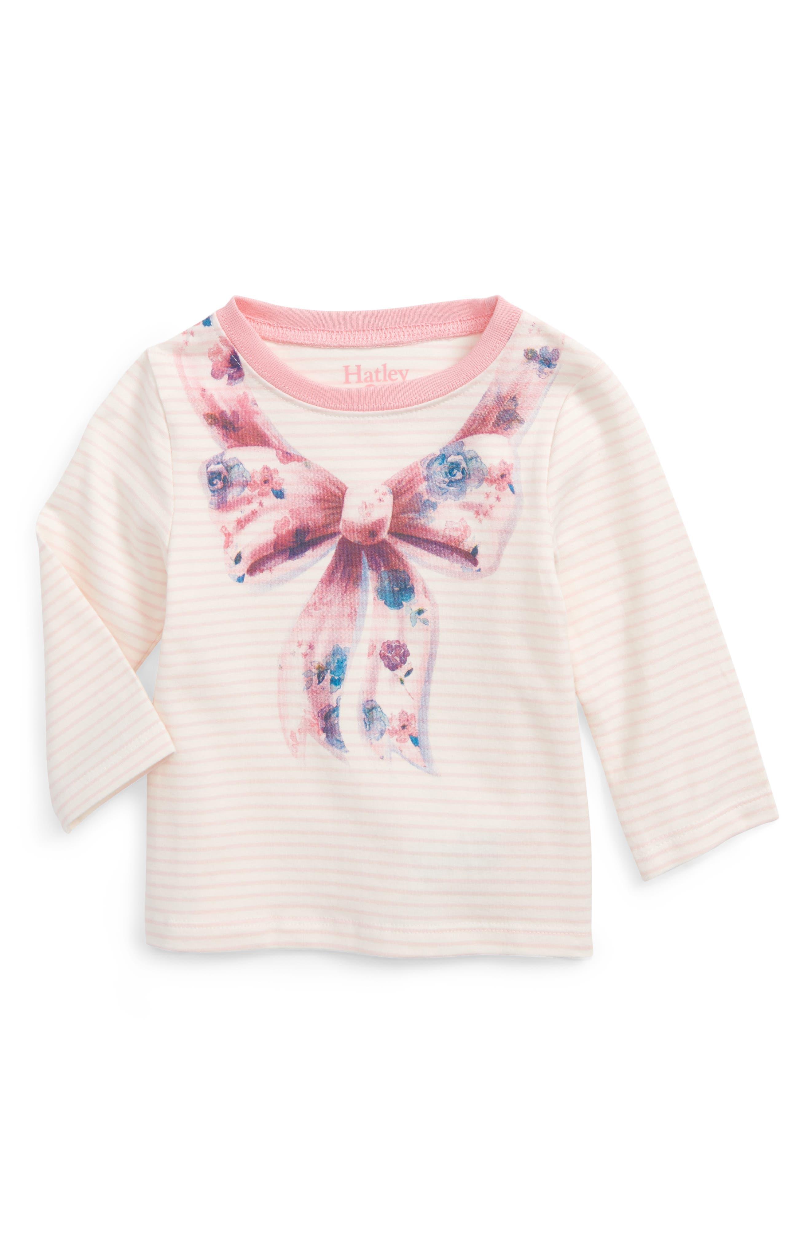 Hatley Graphic Long Sleeve Tee (Baby Girls)