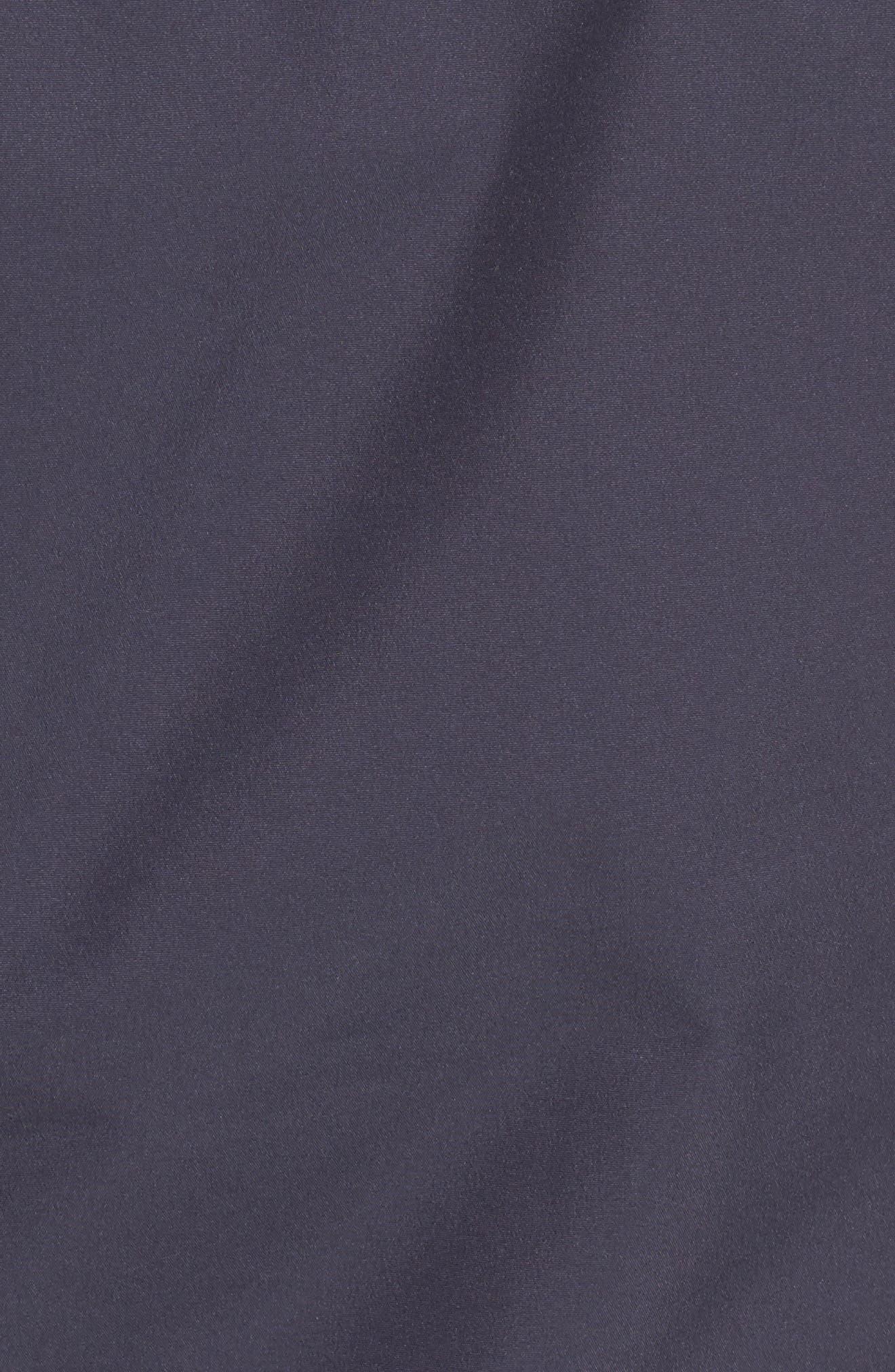 'Aden' Helly Tech<sup>®</sup> Raincoat,                             Alternate thumbnail 6, color,                             Graphite Blue