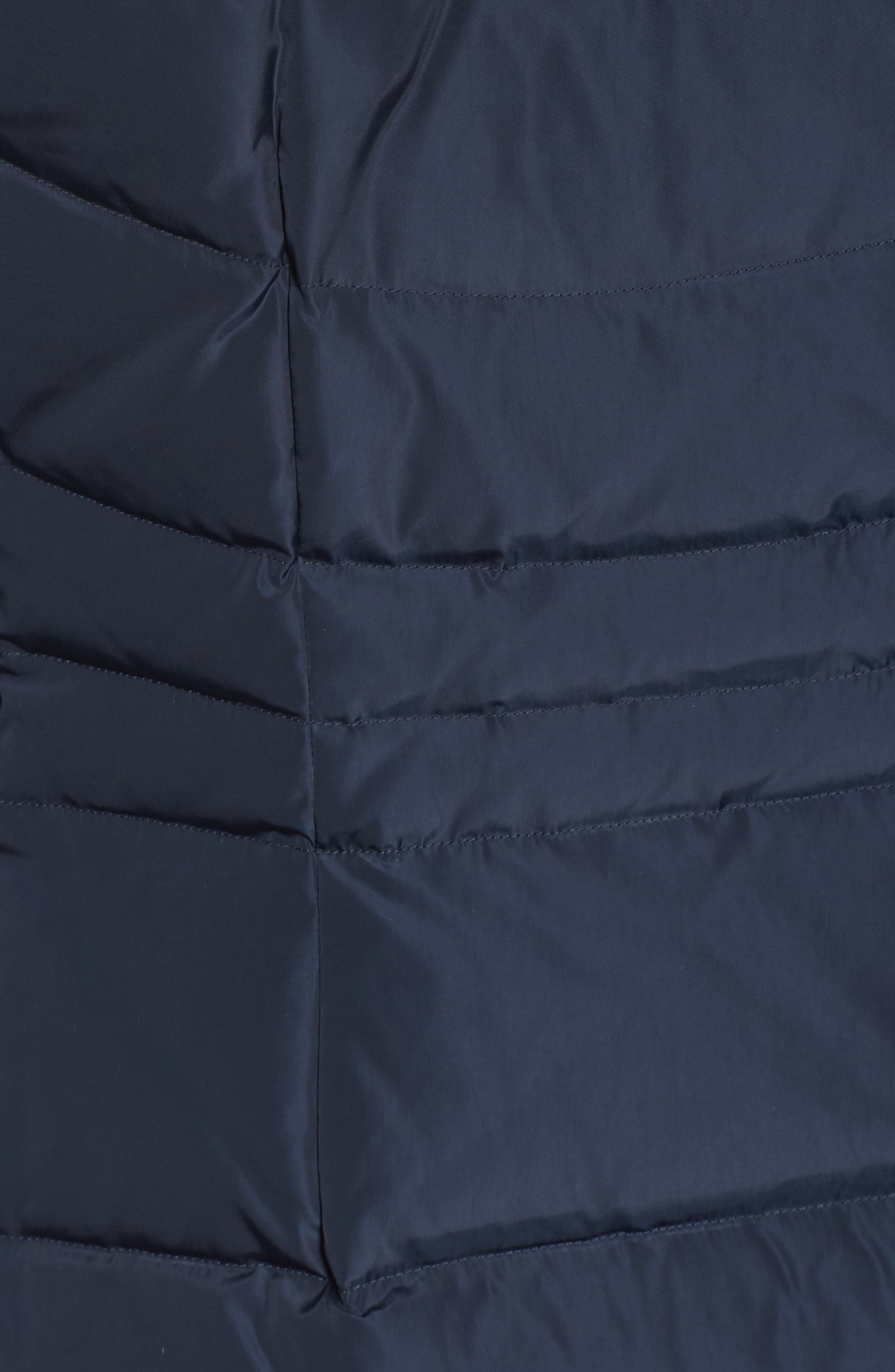 Alternate Image 5  - Cole Haan Quilted Down & Feather Fill Jacket with Faux Fur Trim