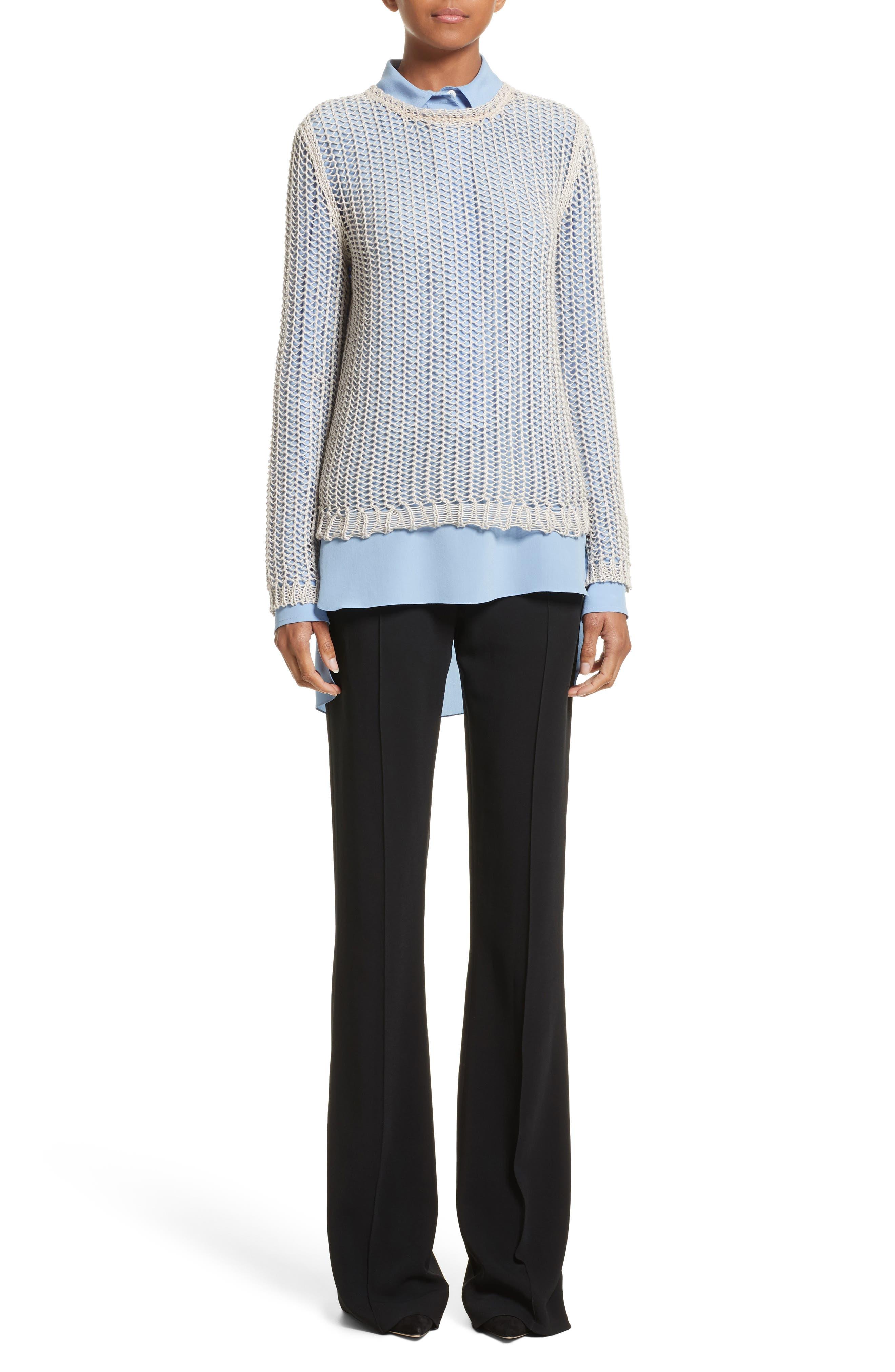 Alternate Image 5  - Victoria Beckham Flare Pants