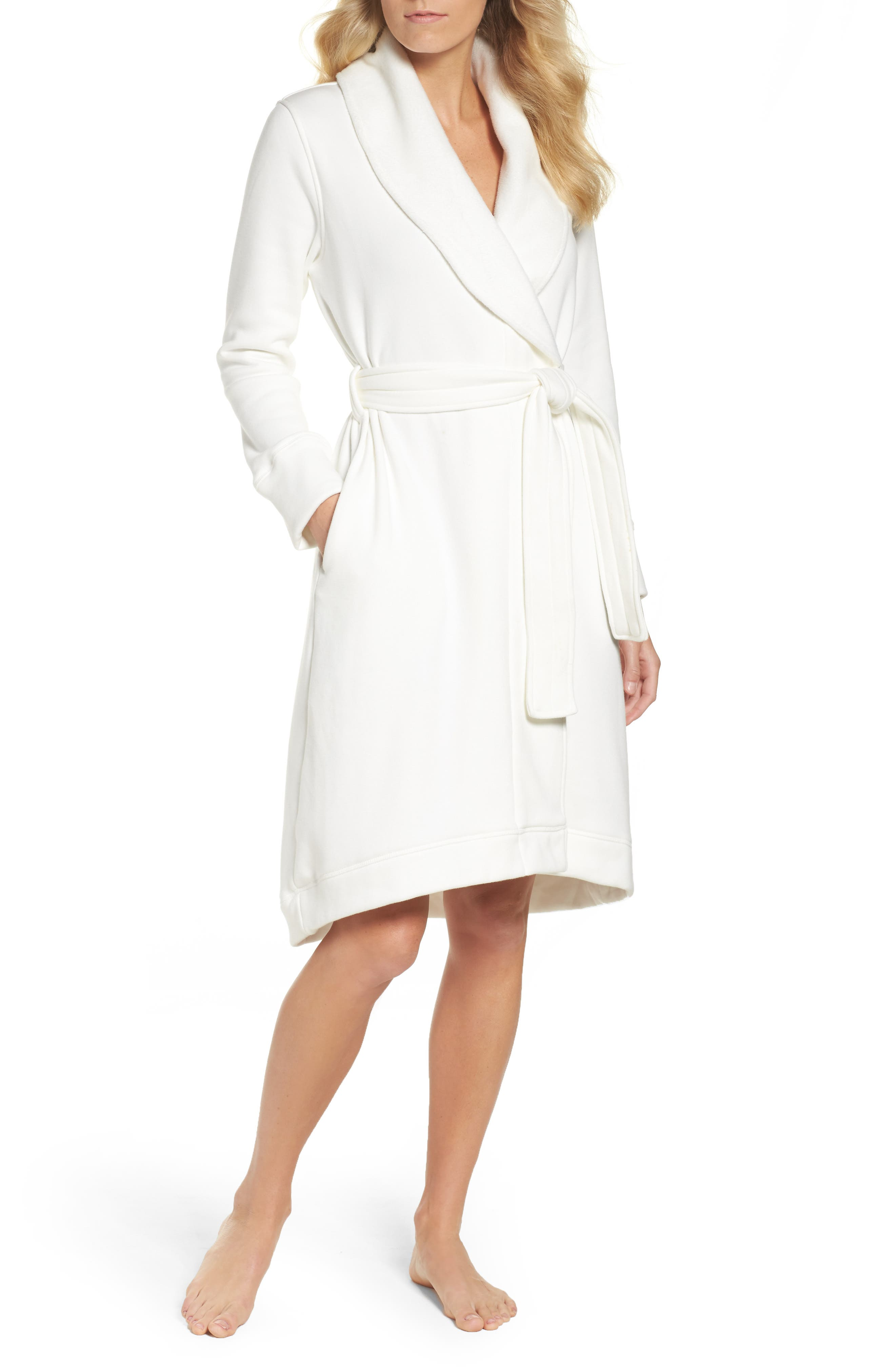 Main Image - UGG® Duffield Double Knit Robe