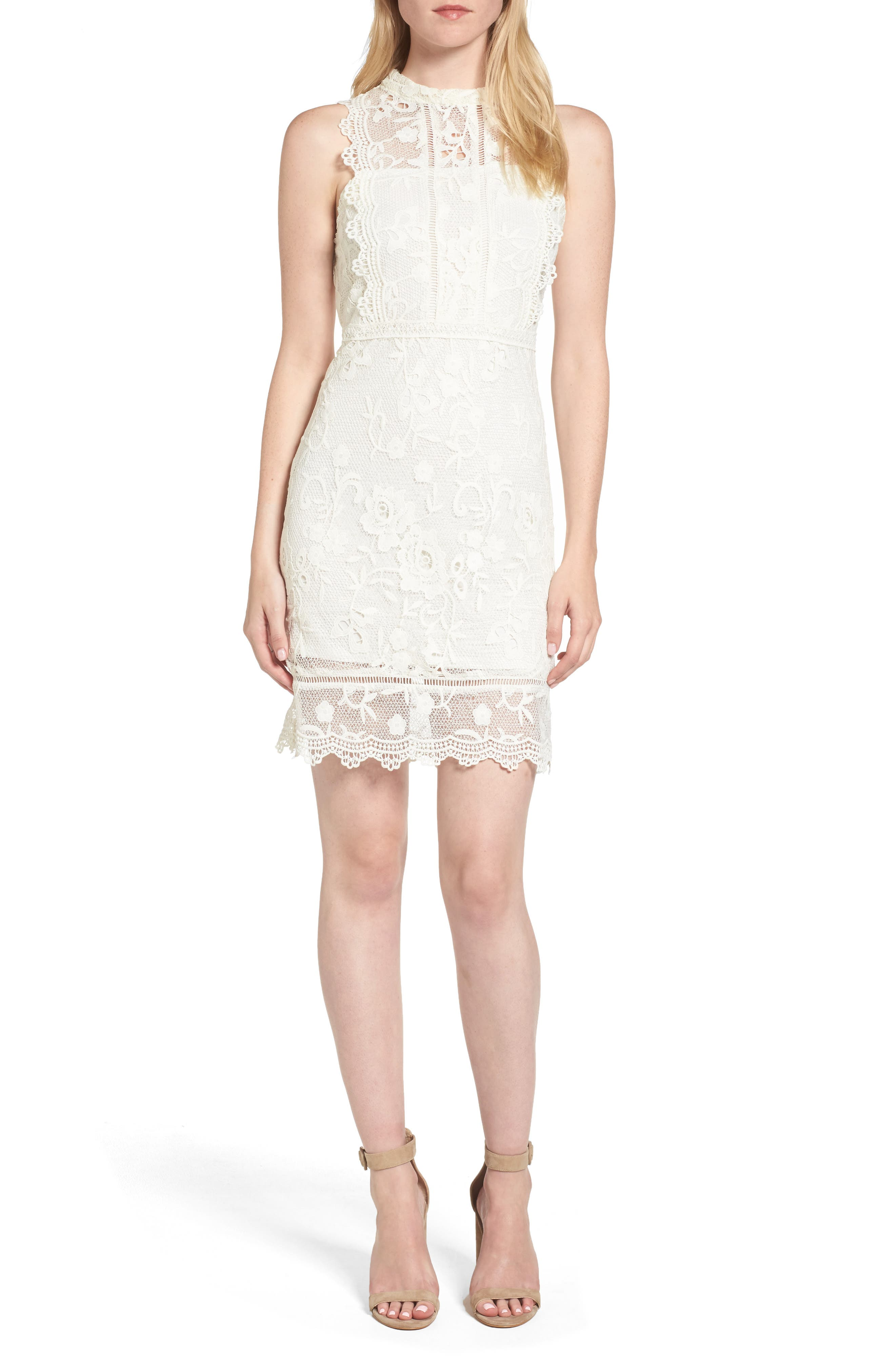 Willow & Clay Lace Sheath Dress