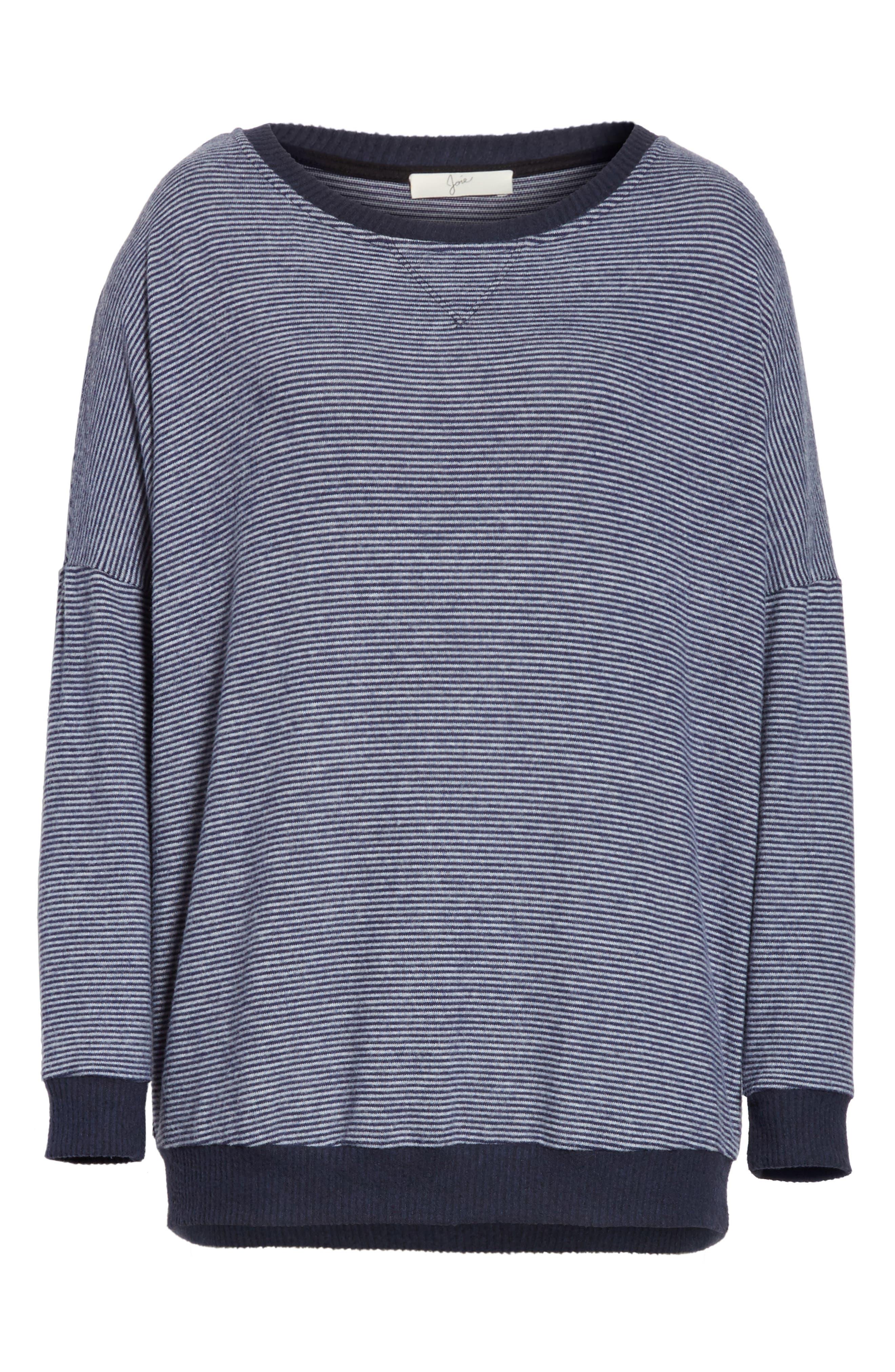 Alternate Image 6  - Joie Striped Sweatshirt