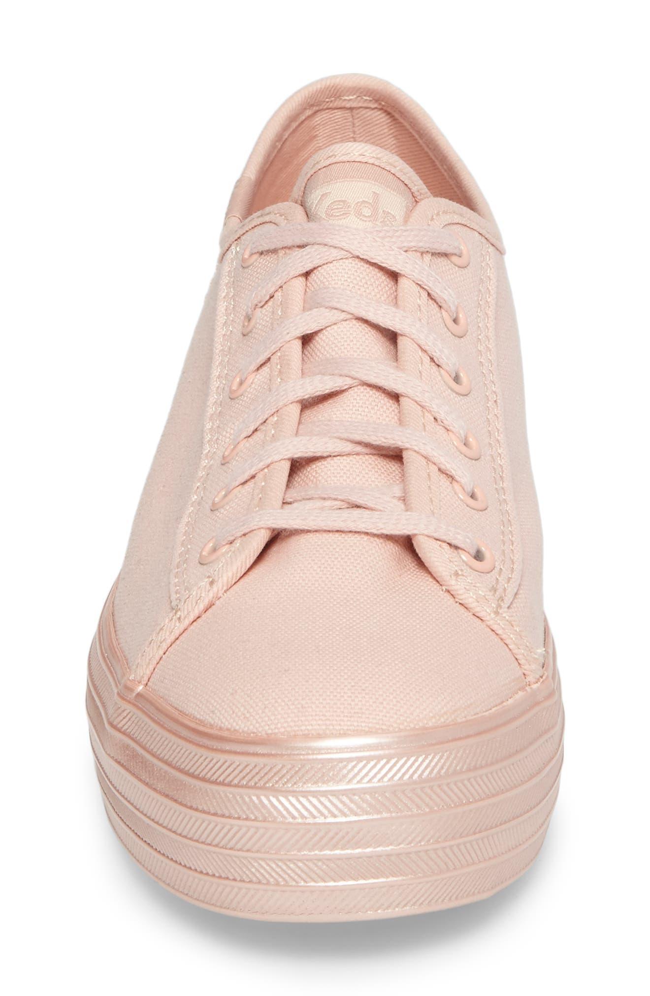 Alternate Image 4  - Keds® Triple Shimmer Platform Sneaker (Women)