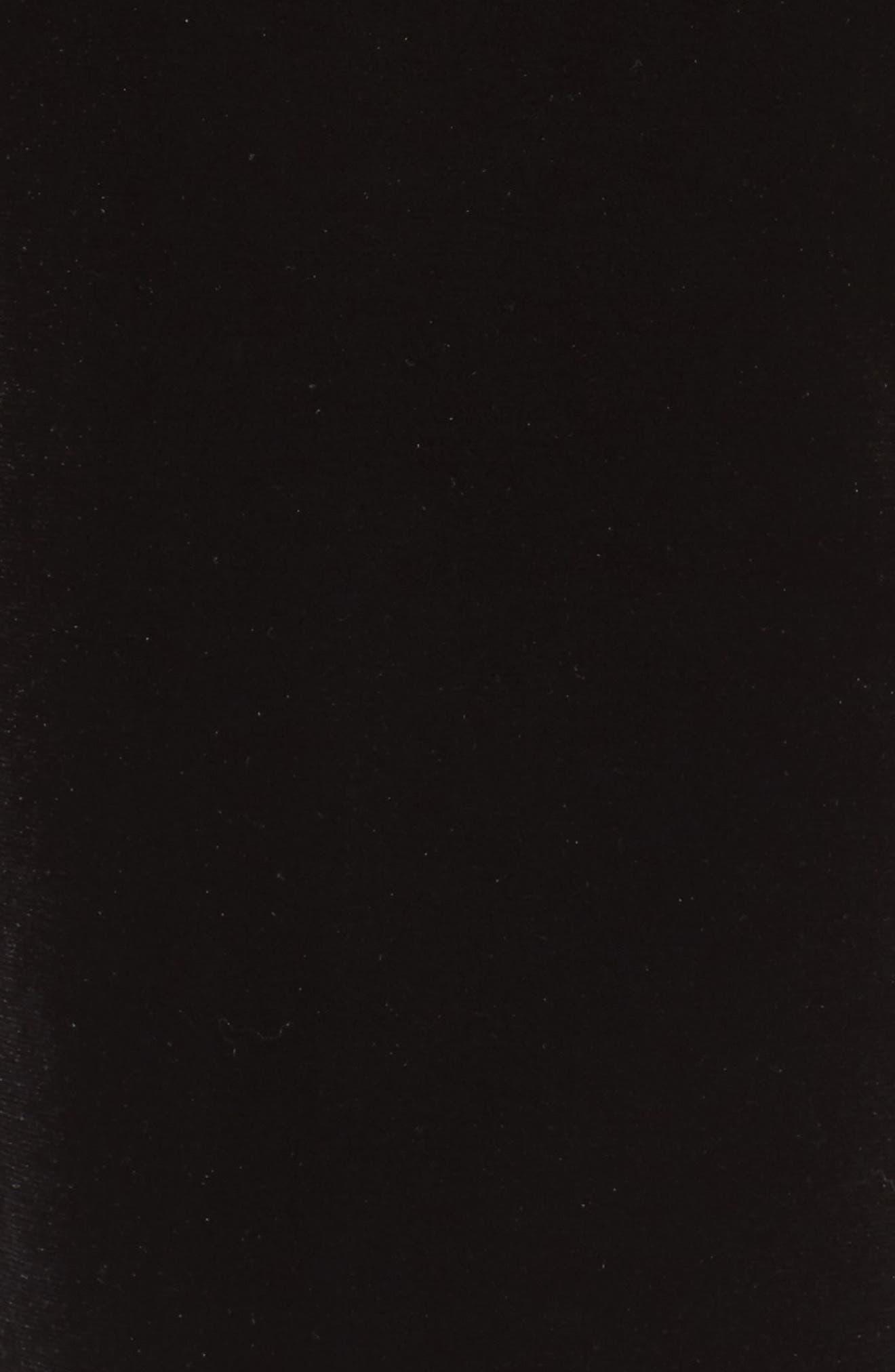 Velvet Pants,                             Alternate thumbnail 5, color,                             Rich Black