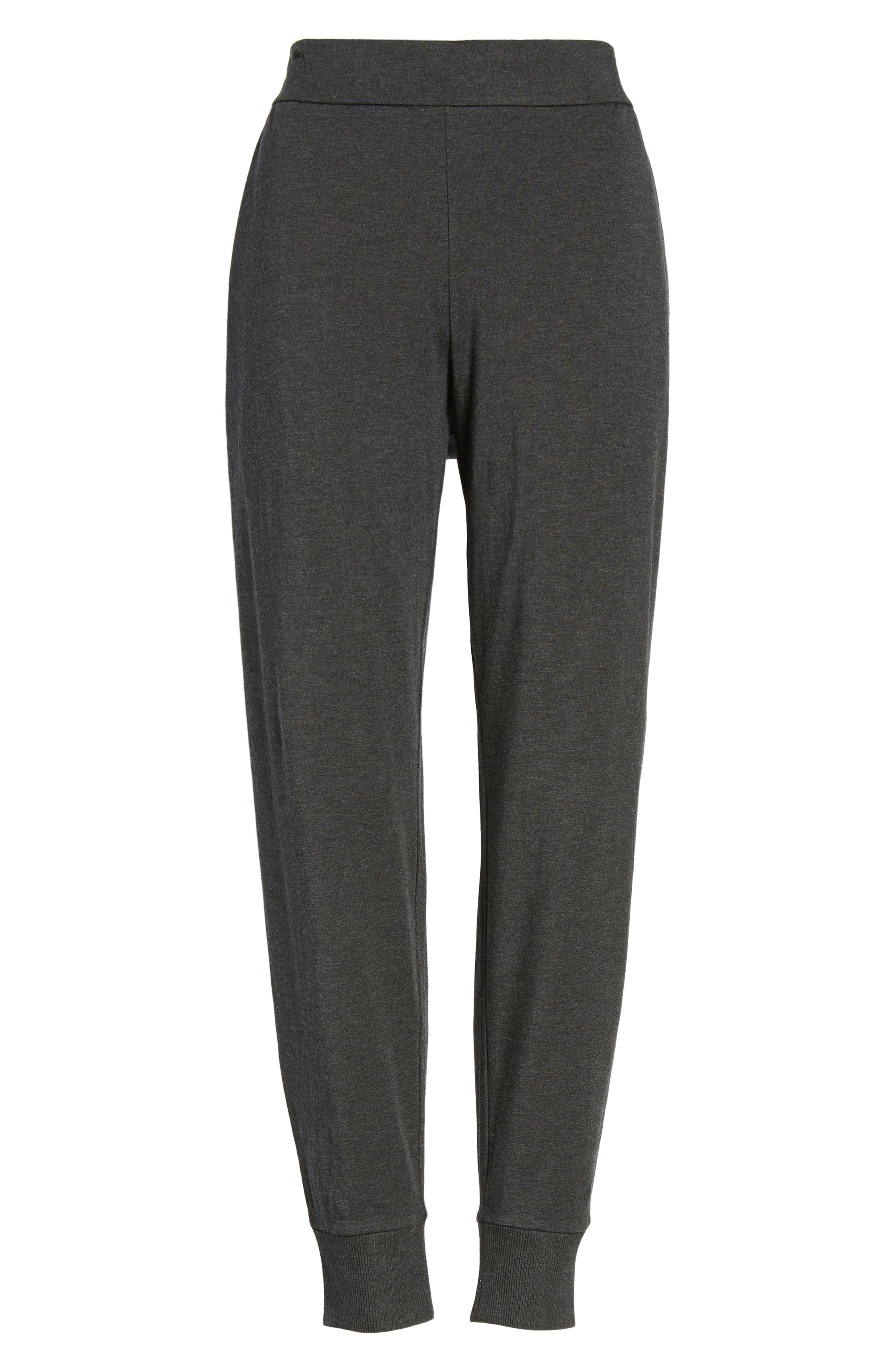 Alternate Image 6  - Eileen Fisher Slouchy Knit Pants