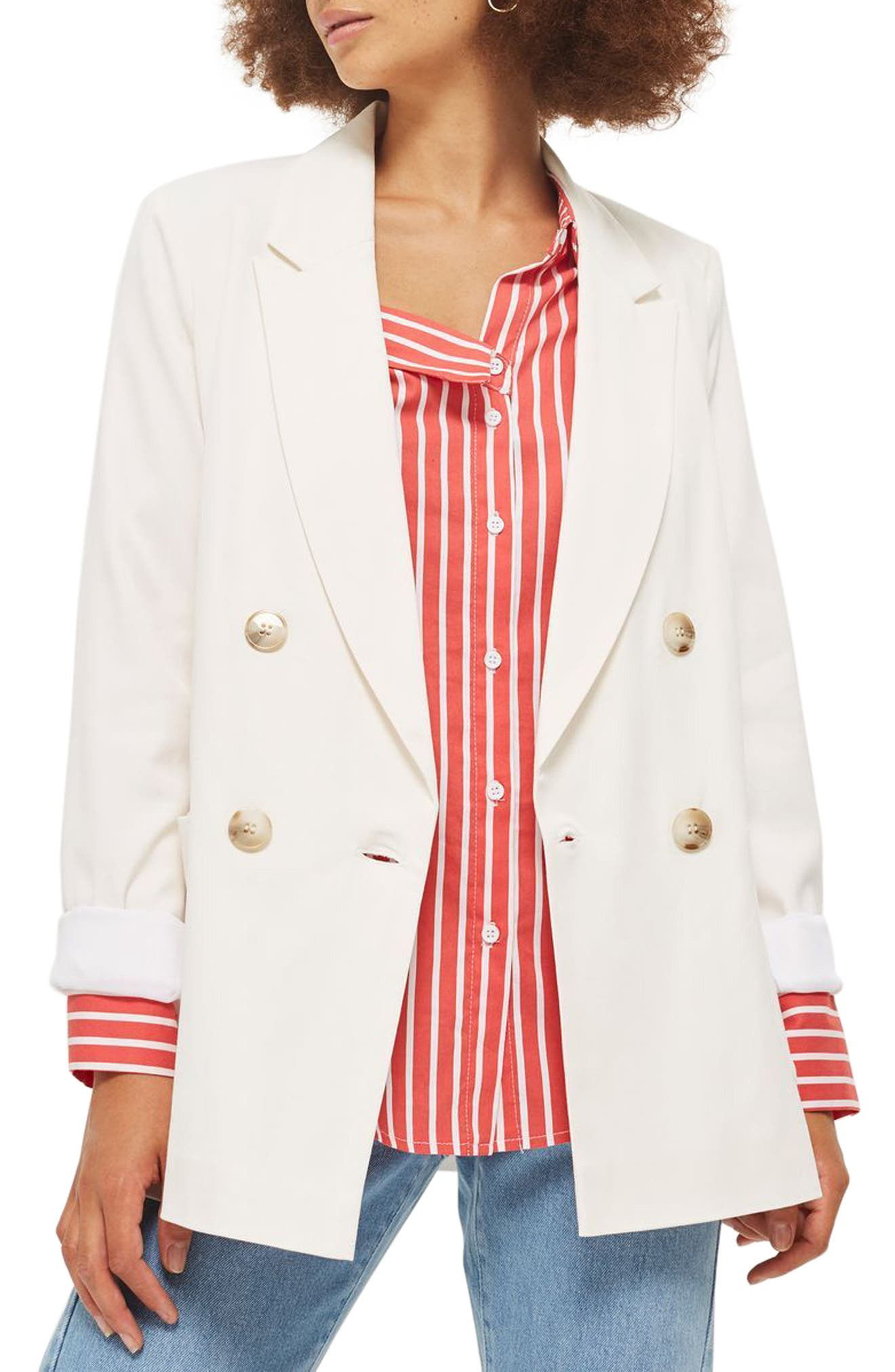 Topshop Mensy Slouch Jacket