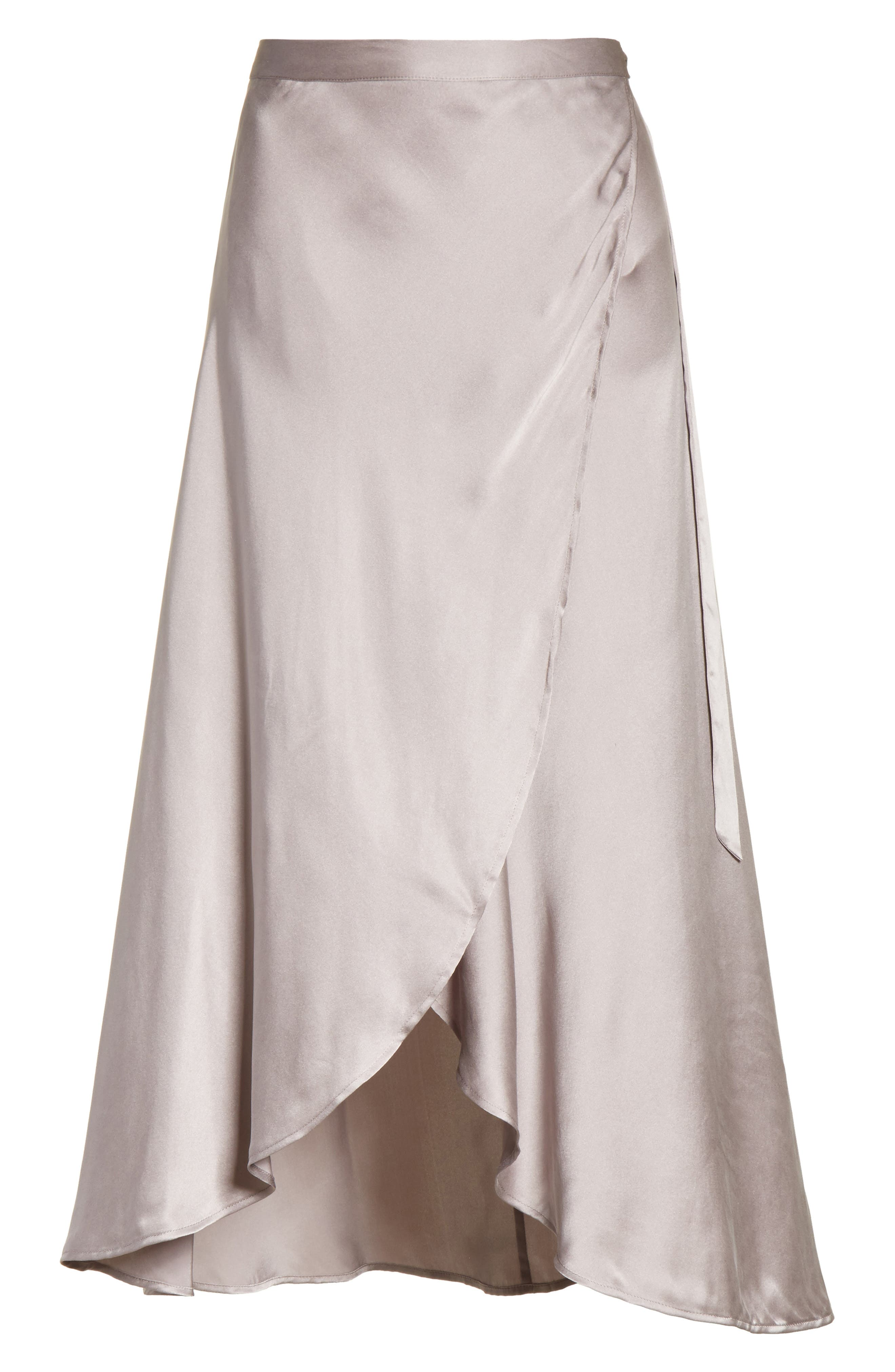 Alternate Image 6  - Joie Dahoma Silk Wrap Midi Skirt