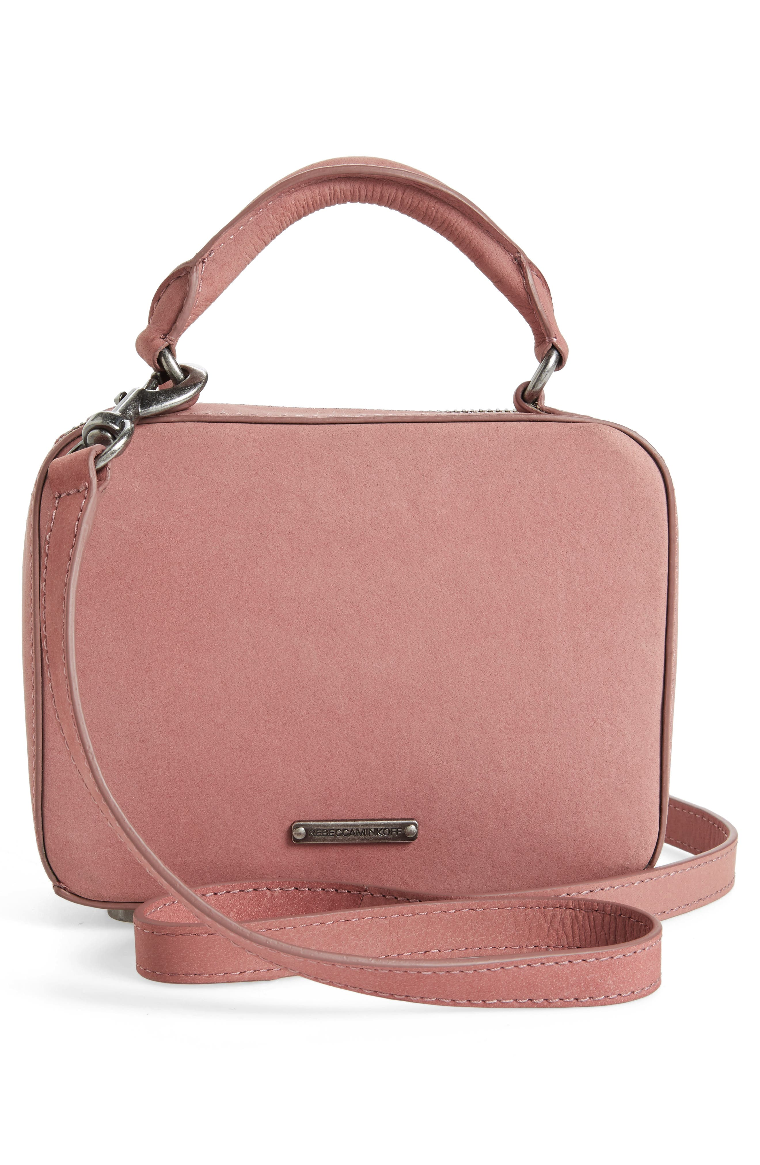 Alternate Image 3  - Rebecca Minkoff Embellished Box Leather Crossbody Bag