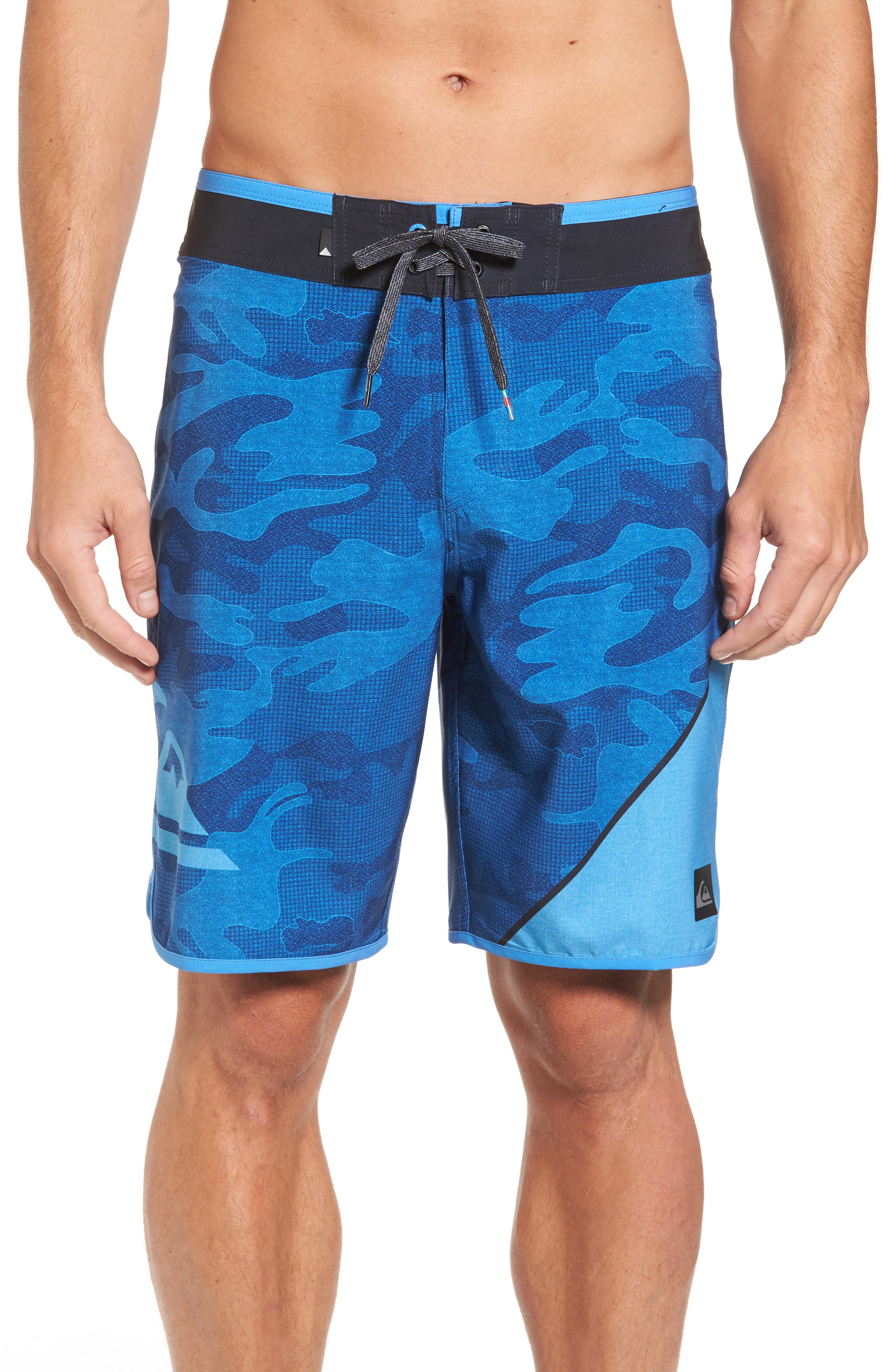 New Wave Everyday Board Shorts,                         Main,                         color, Blue