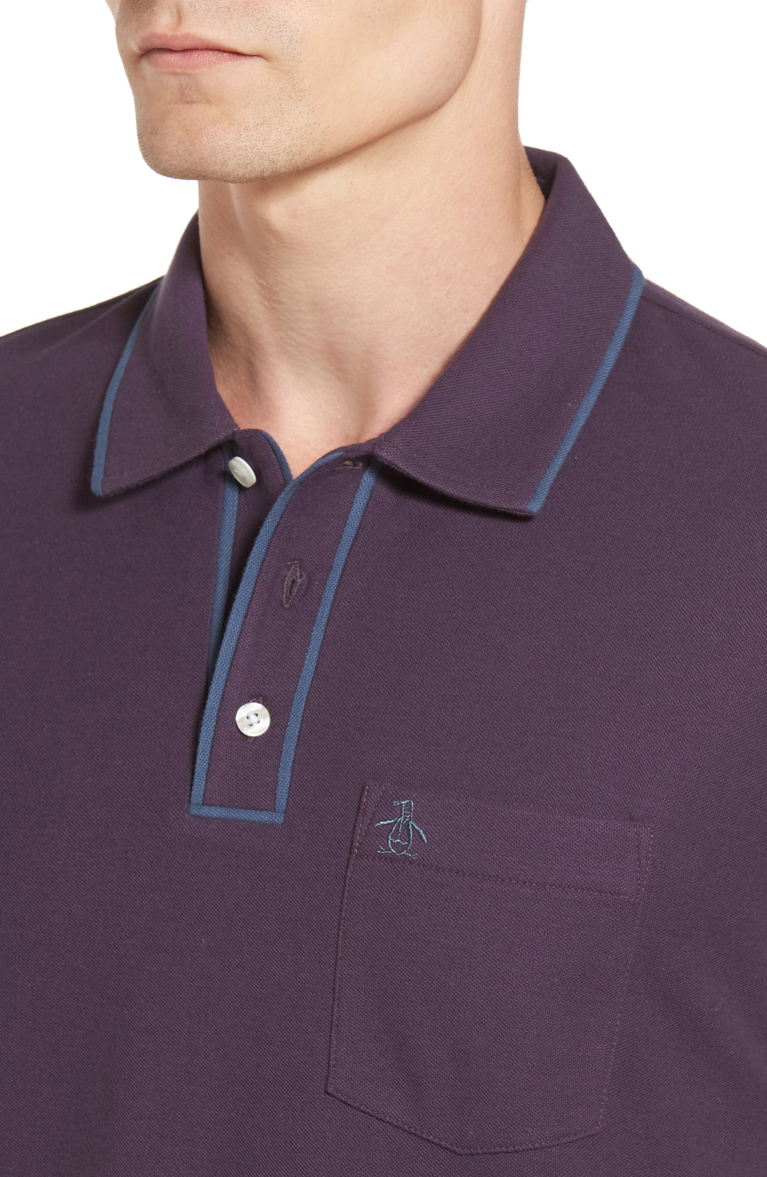 Alternate Image 4  - Original Penguin Earl Piqué Polo