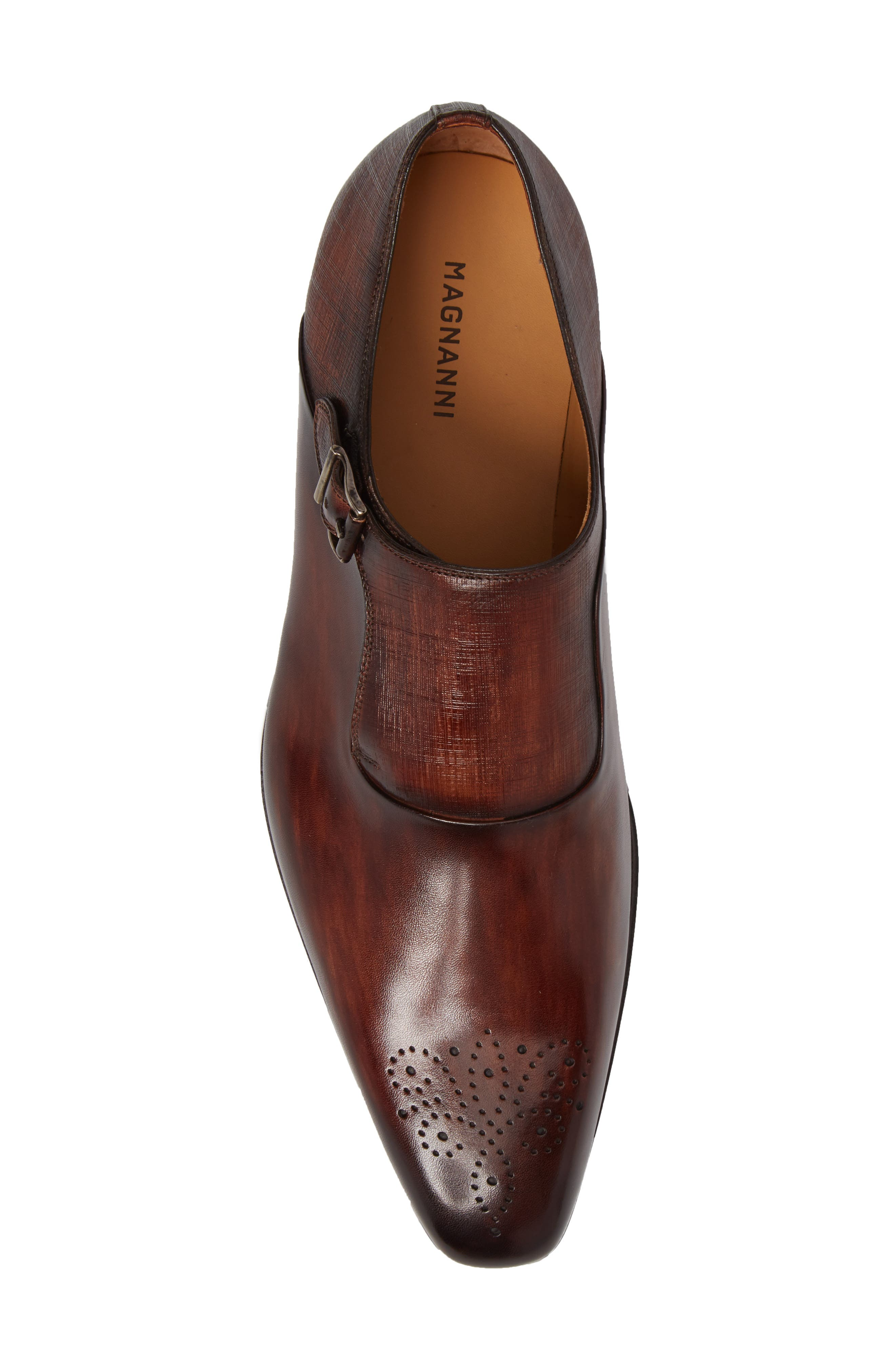 Alternate Image 5  - Magnanni Saburo Monk Strap Shoe (Men)