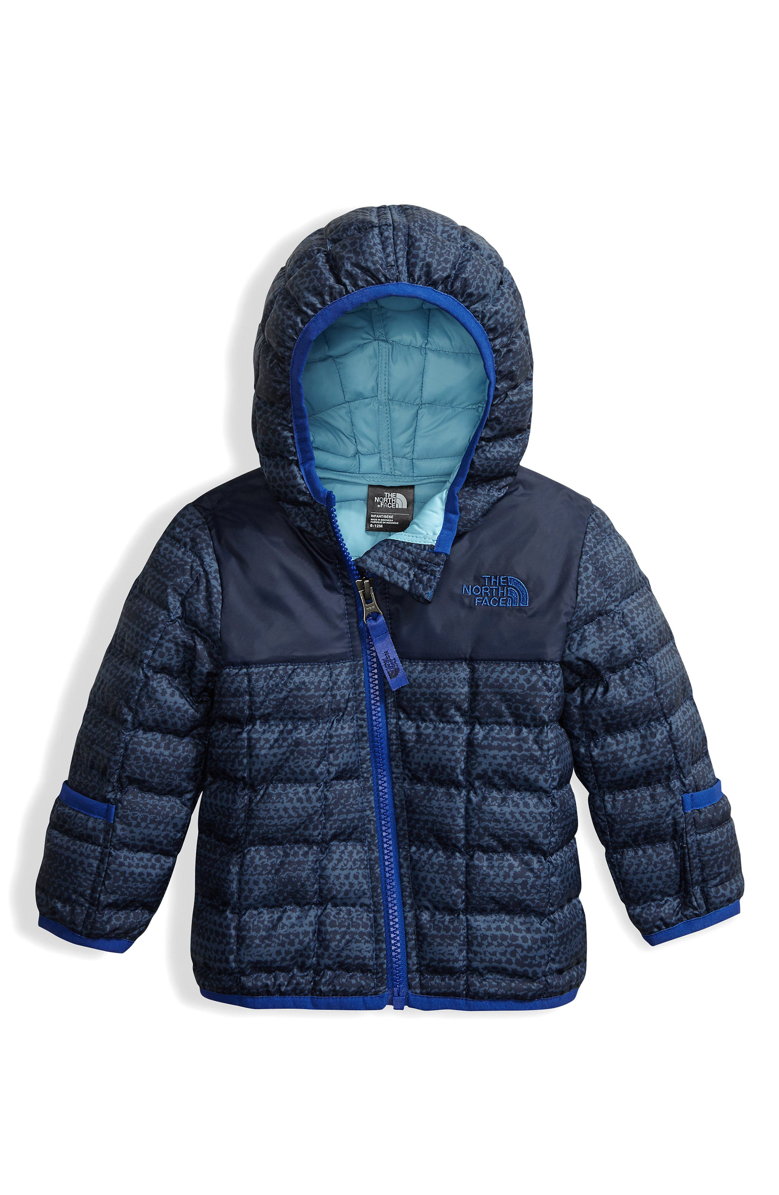 ThermoBall<sup>™</sup> PrimaLoft<sup>®</sup> Hoodie Jacket,                             Main thumbnail 1, color,                             Cosmic Blue Chain