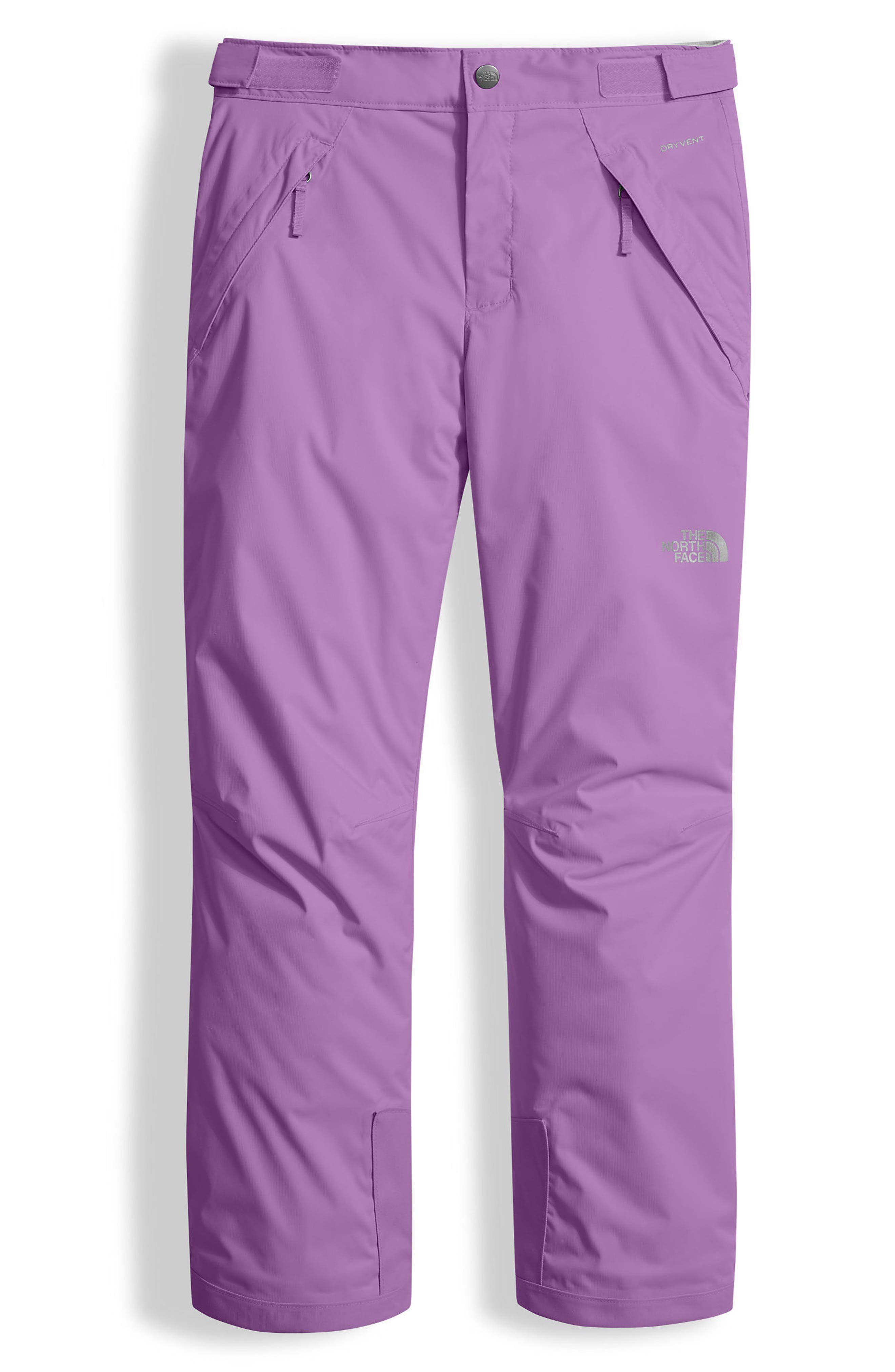 Freedom Waterproof Heatseeker<sup>™</sup> Insulated Snow Pants,                             Main thumbnail 1, color,                             Bellflower Purple