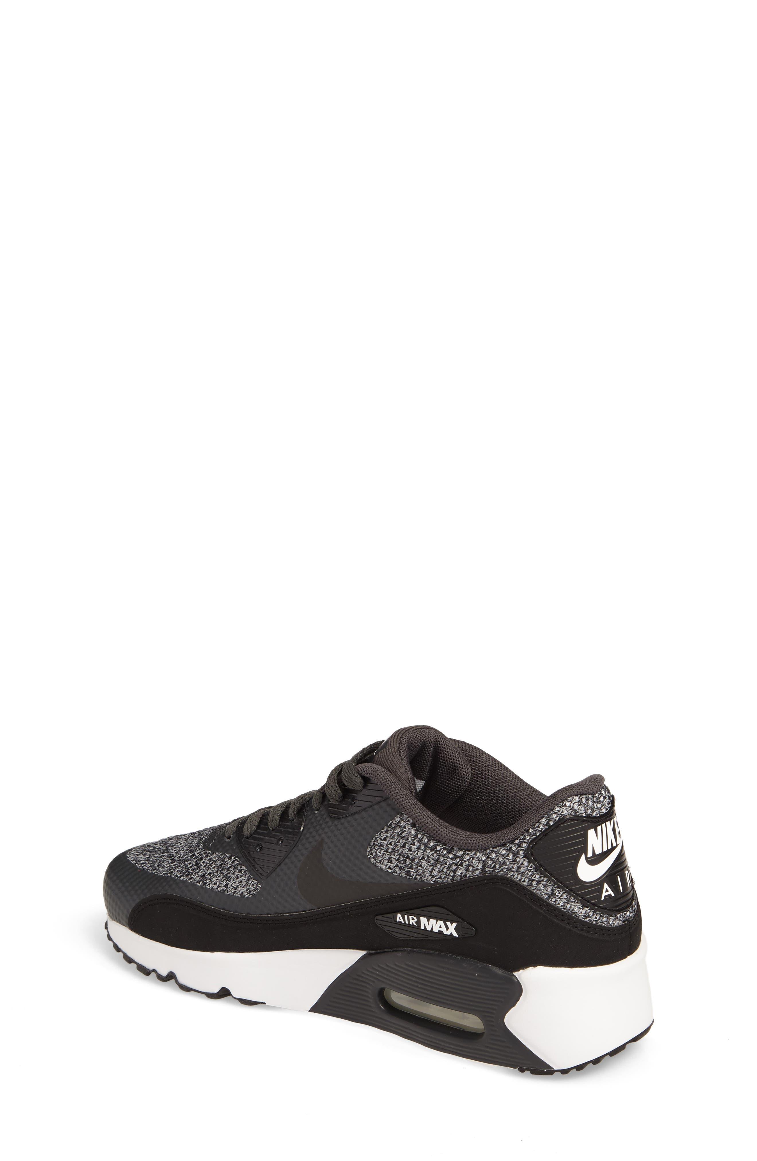 Air Max 90 Ultra 2.0 SE Sneaker,                             Alternate thumbnail 2, color,                             Anthracite/ Black