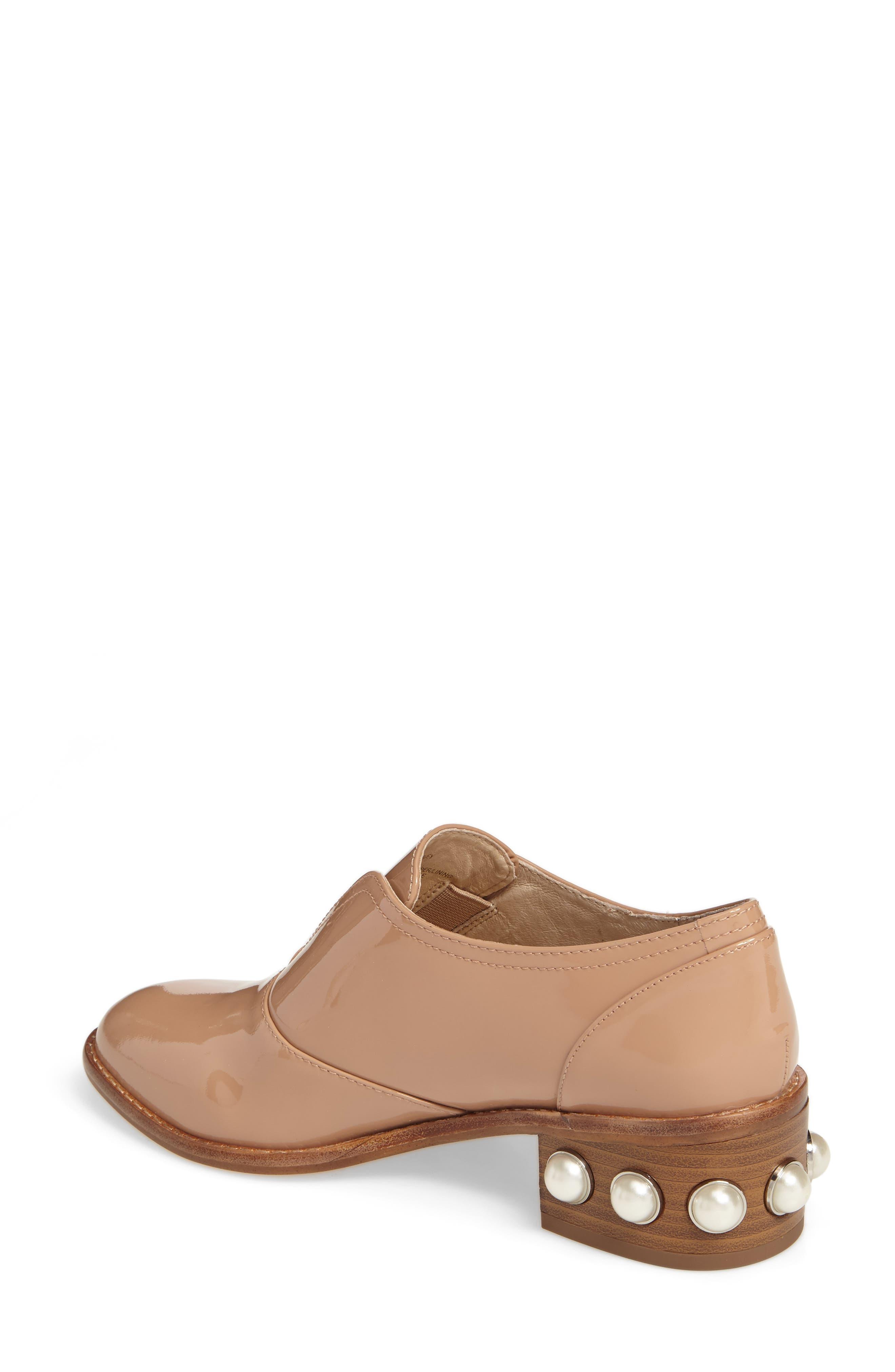 Alternate Image 6  - Louise et Cie Franley Embellished Heel Oxford (Women)
