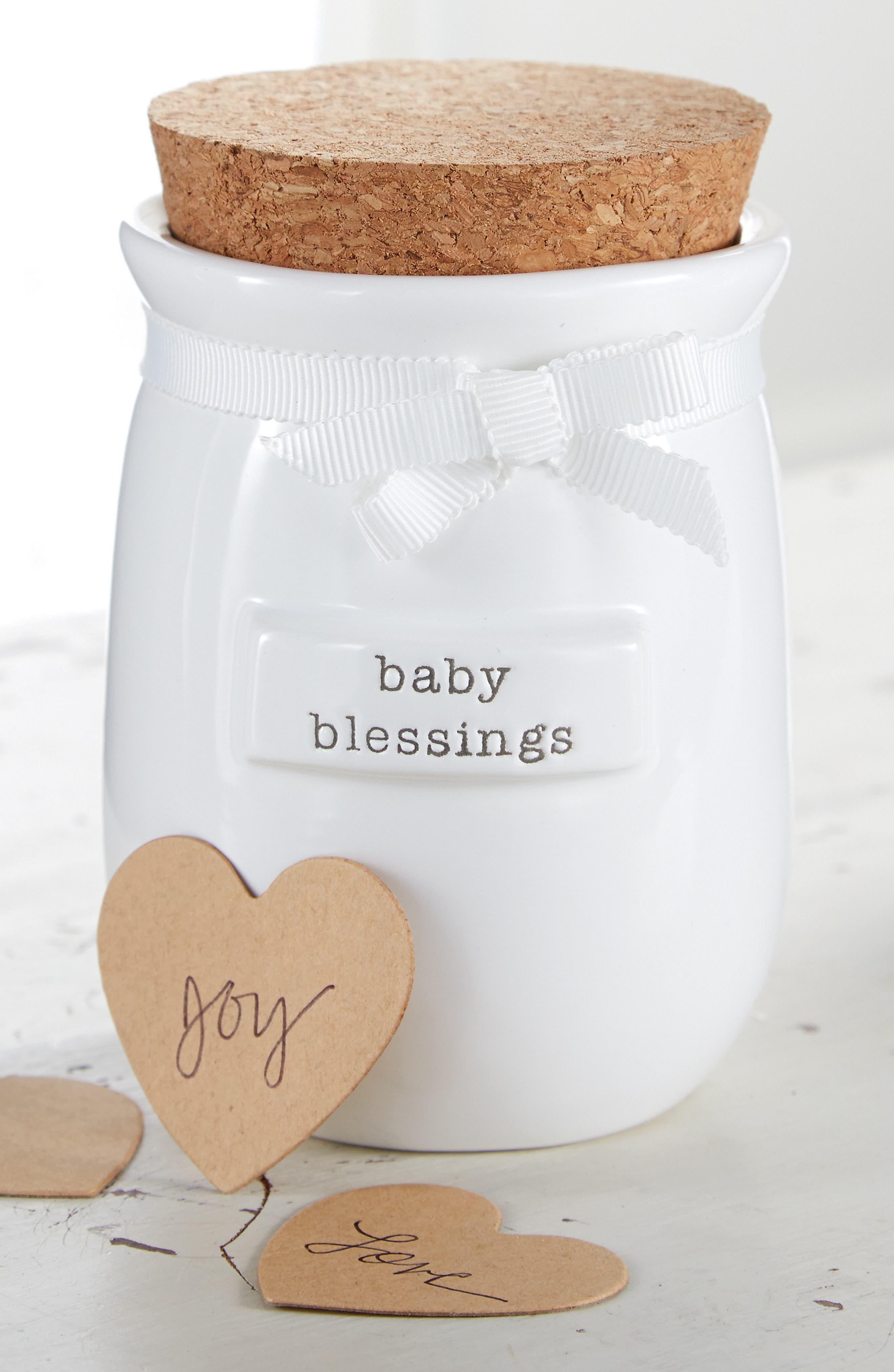 Alternate Image 2  - Mud Pie Baby Blessings Jar