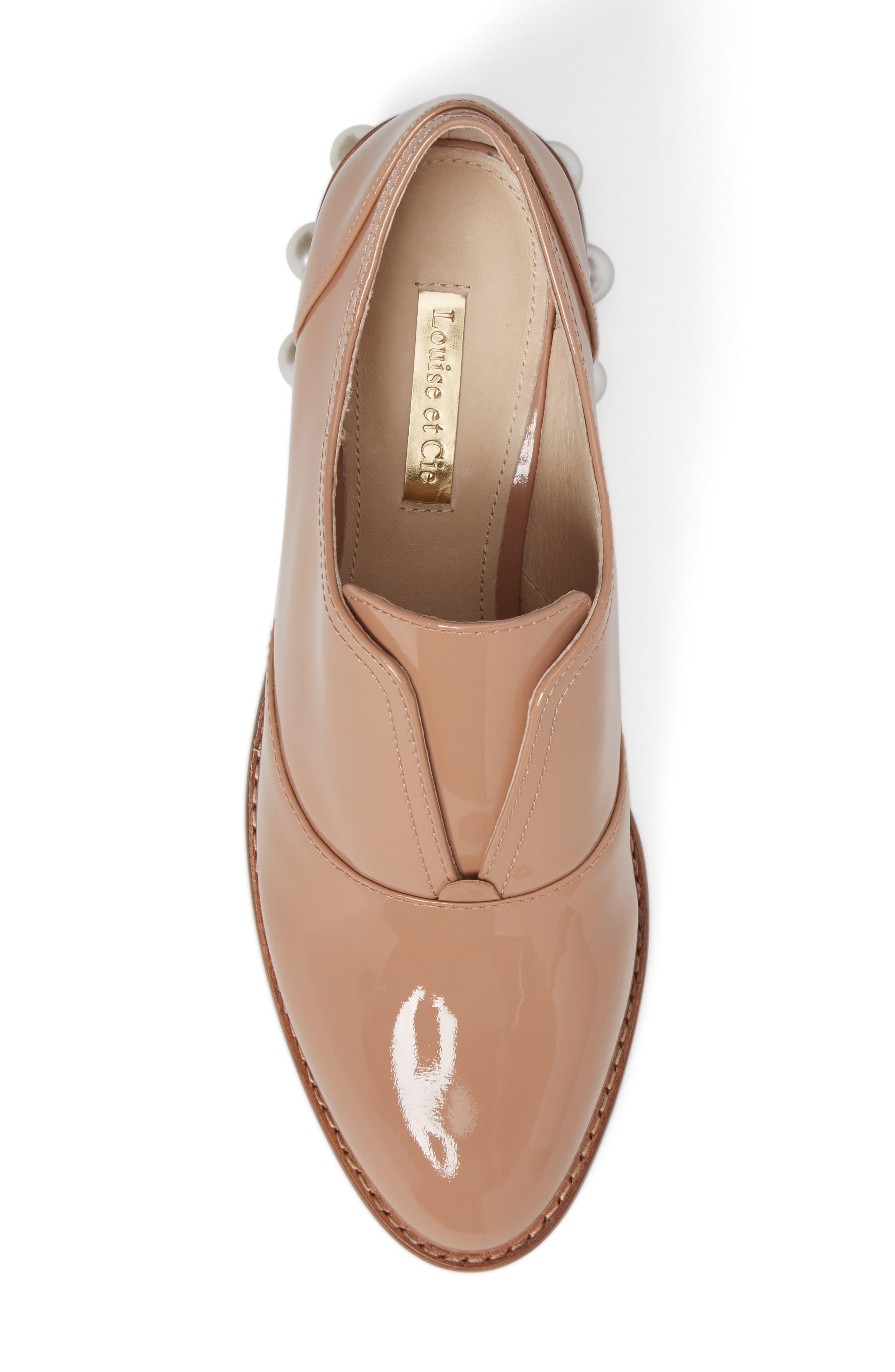 Alternate Image 3  - Louise et Cie Franley Embellished Heel Oxford (Women)