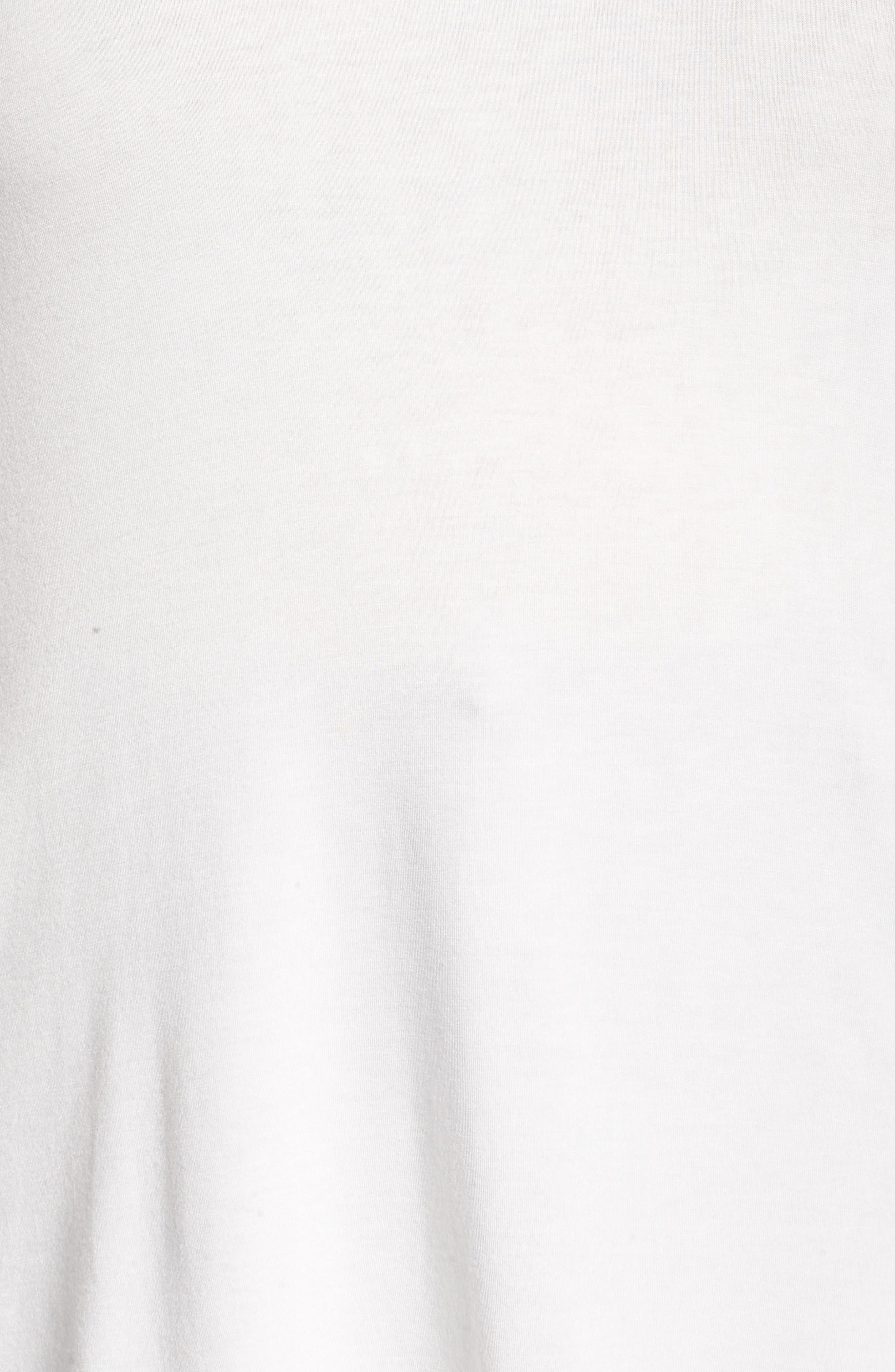 Alternate Image 5  - Sejour Long Sleeve Crewneck Tee (Plus Size)