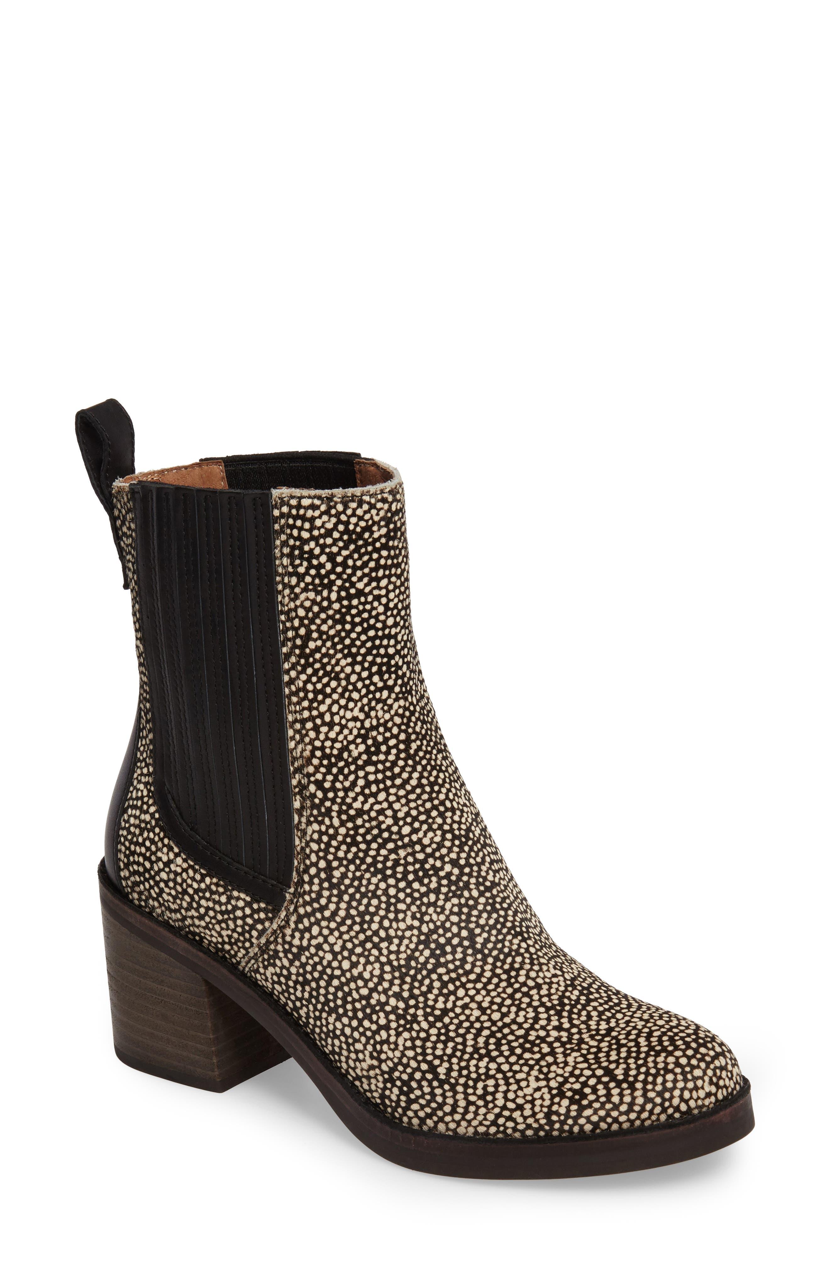 UGG® Camden Genuine Calf Hair Chelsea Boot (Women)