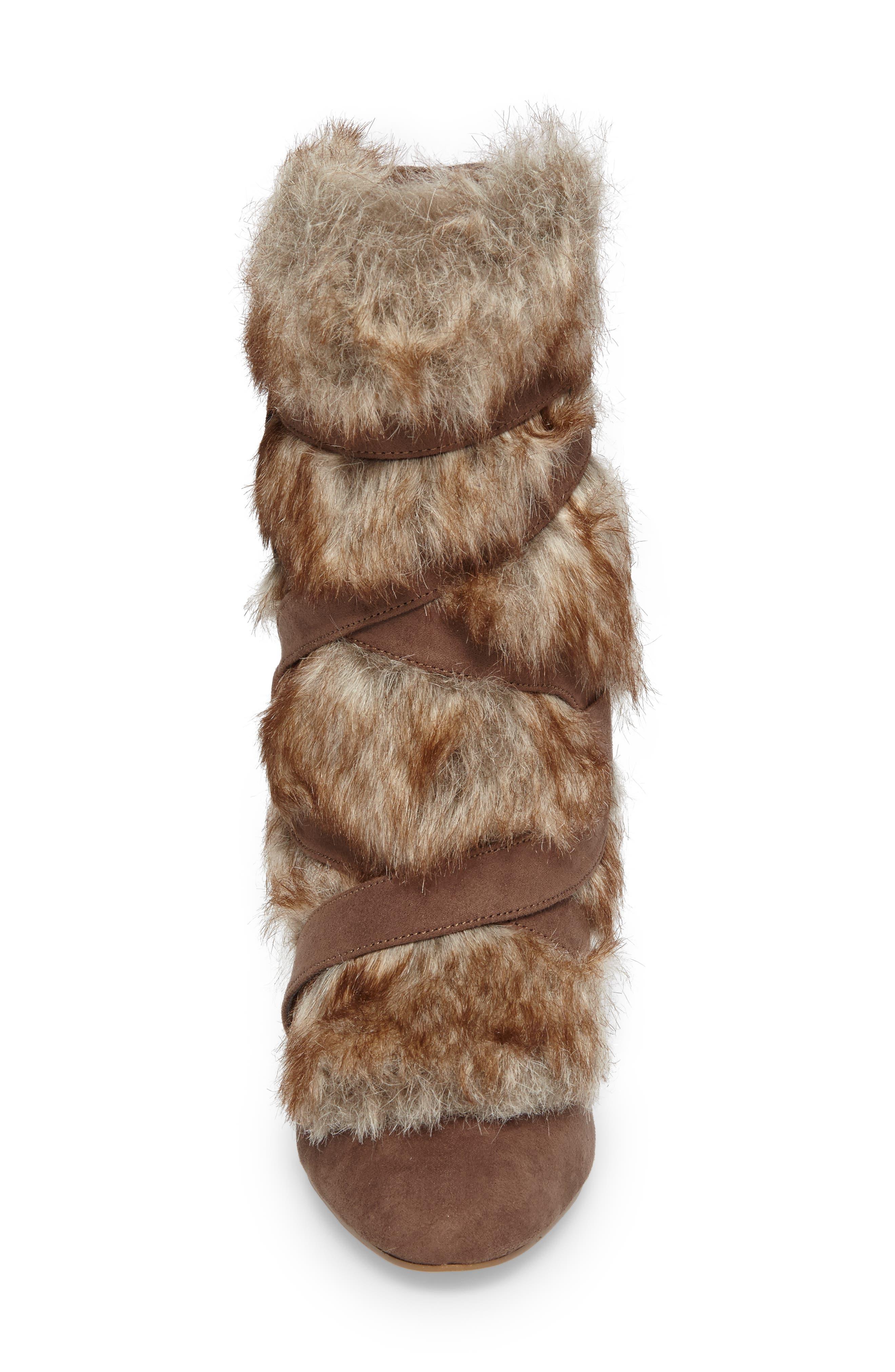 Alternate Image 4  - Charles by Charles David Alberta Faux Fur Boot (Women)