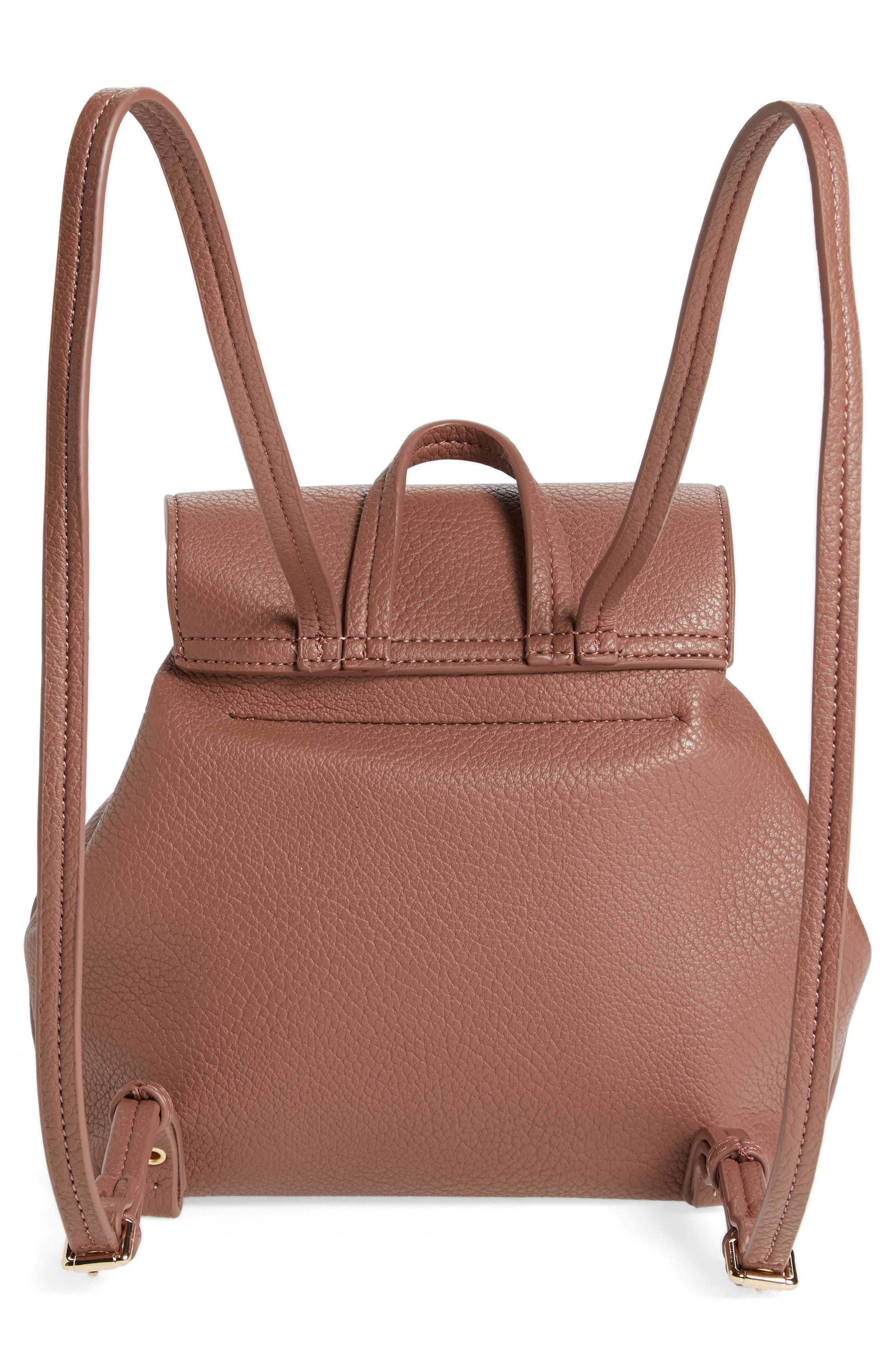 Alternate Image 2  - Sole Society Jaylee Faux Leather Mini Backpack