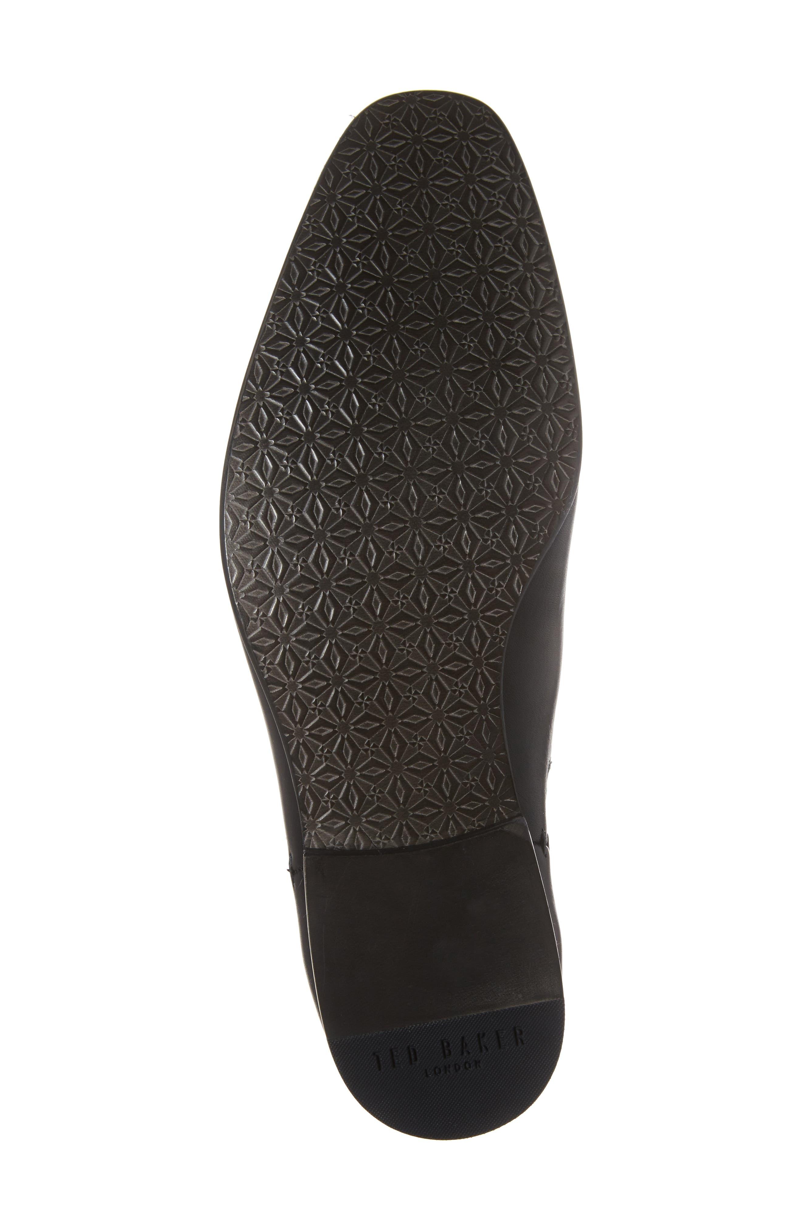 Kayto Chelsea Boot,                             Alternate thumbnail 6, color,                             Black Leather