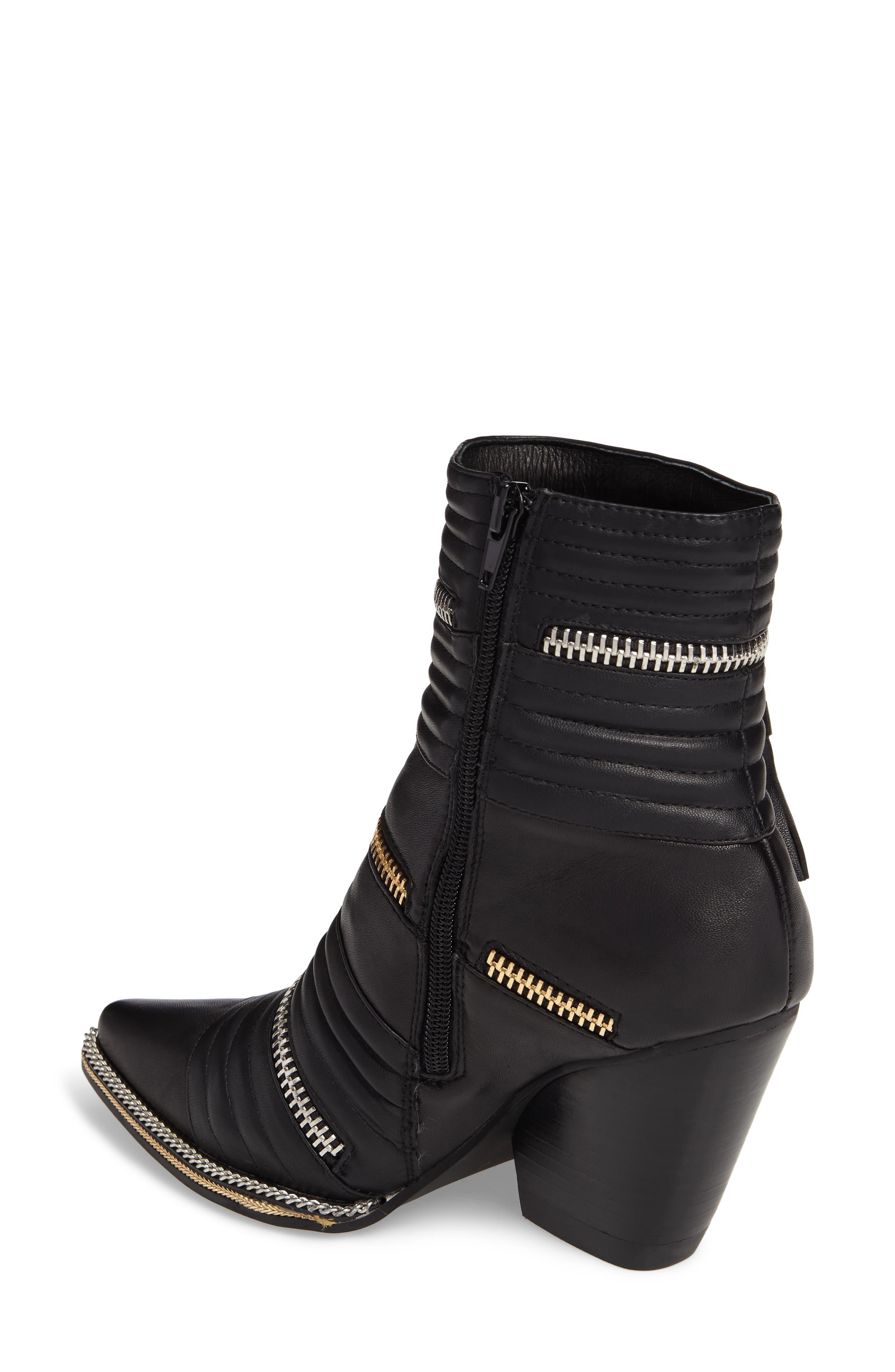 Alternate Image 2  - Jeffrey Campbell Tenzin Chain Pointy Toe Boot (Women)