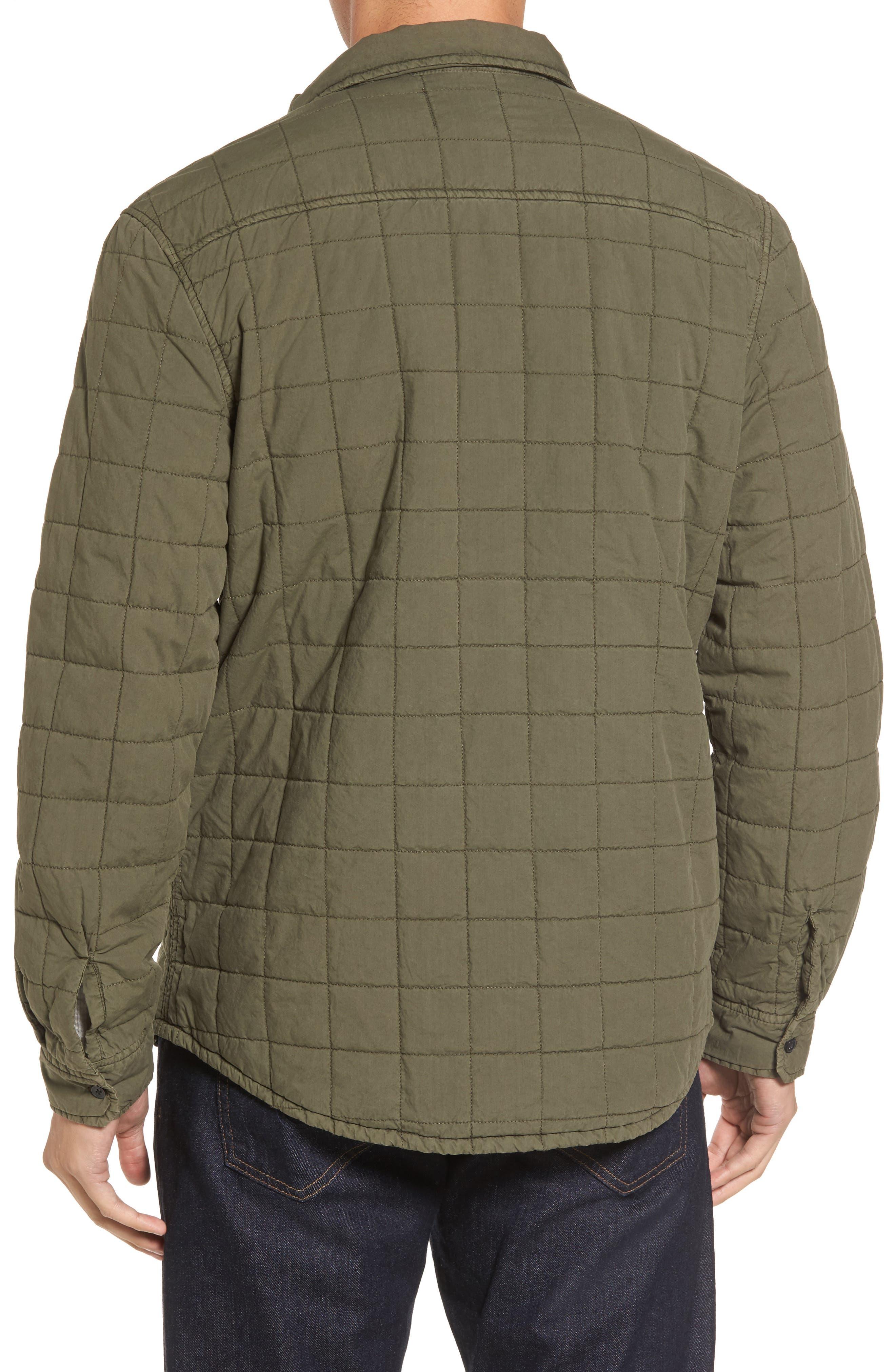 Alternate Image 2  - UGG® Quilted Shirt Jacket