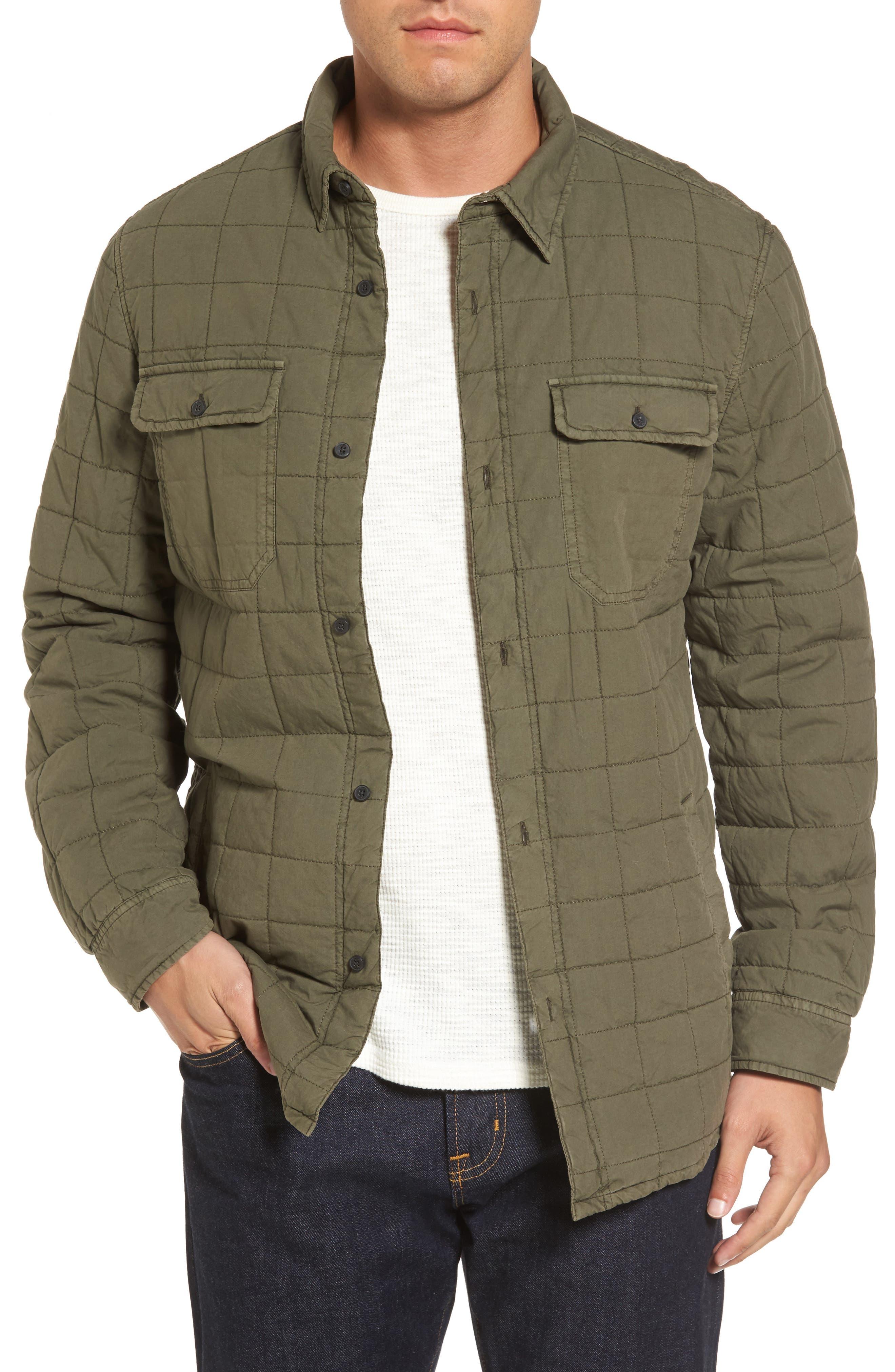 Alternate Image 1 Selected - UGG® Quilted Shirt Jacket