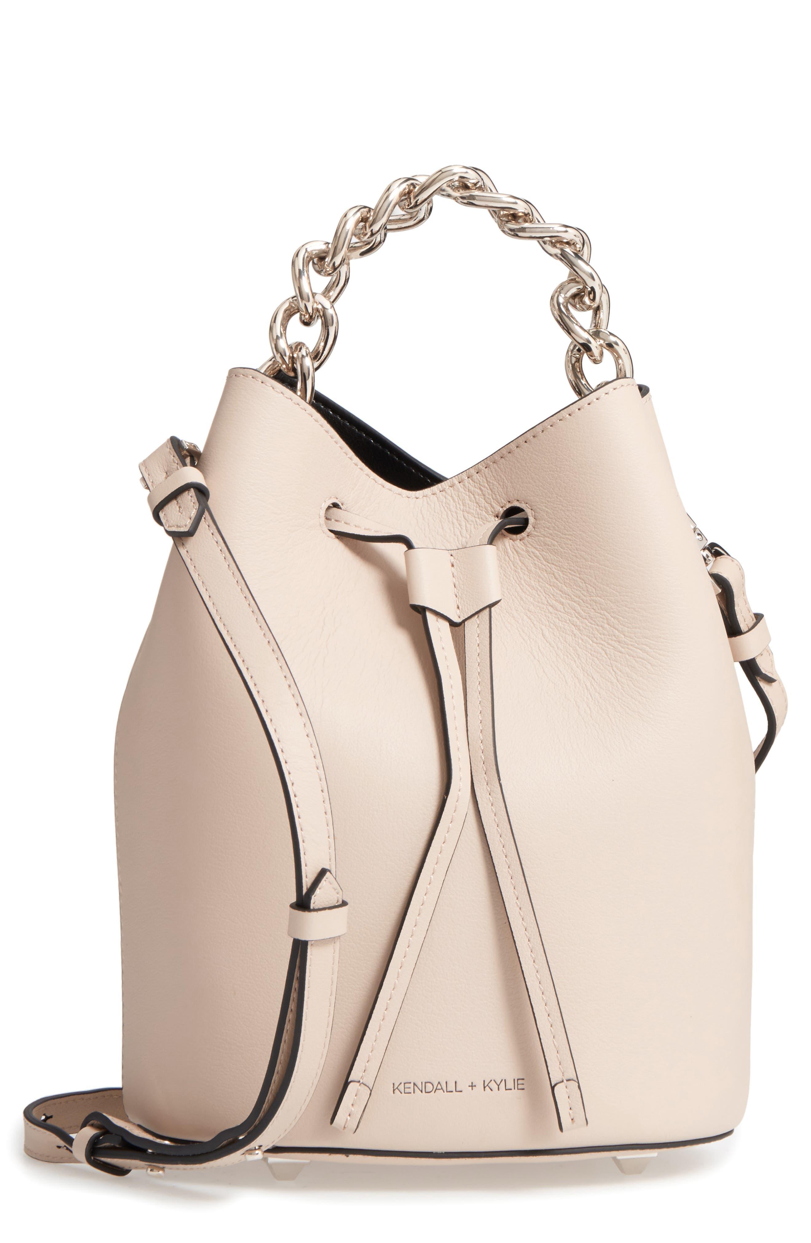 Alternate Image 1 Selected - KENDALL + KYLIE Mini Ladie Bucket Bag