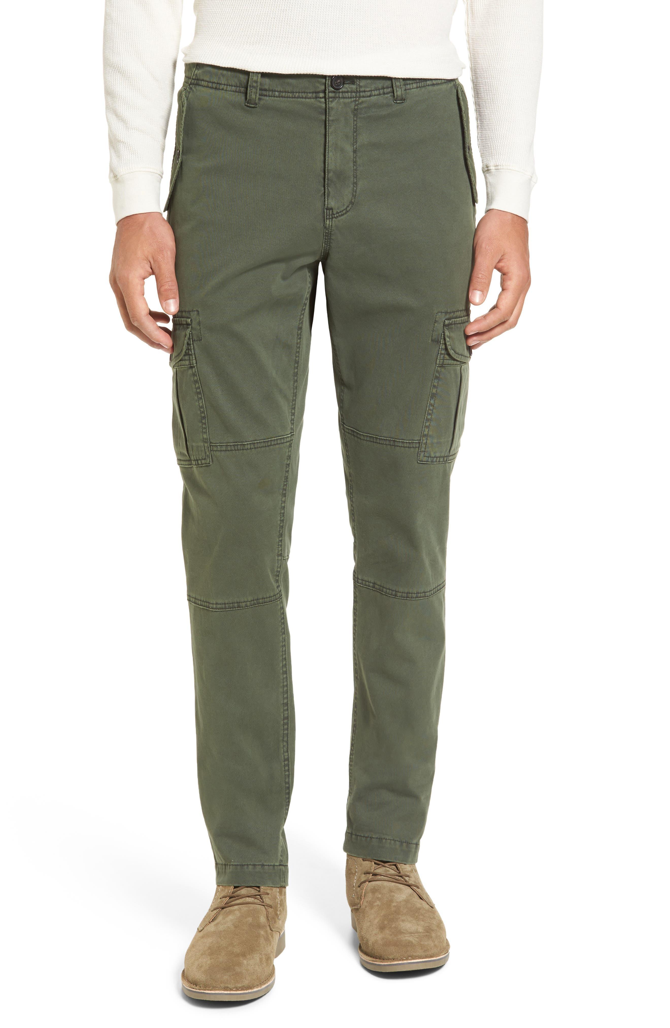 Michael Bastian Stretch Twill Cargo Pants