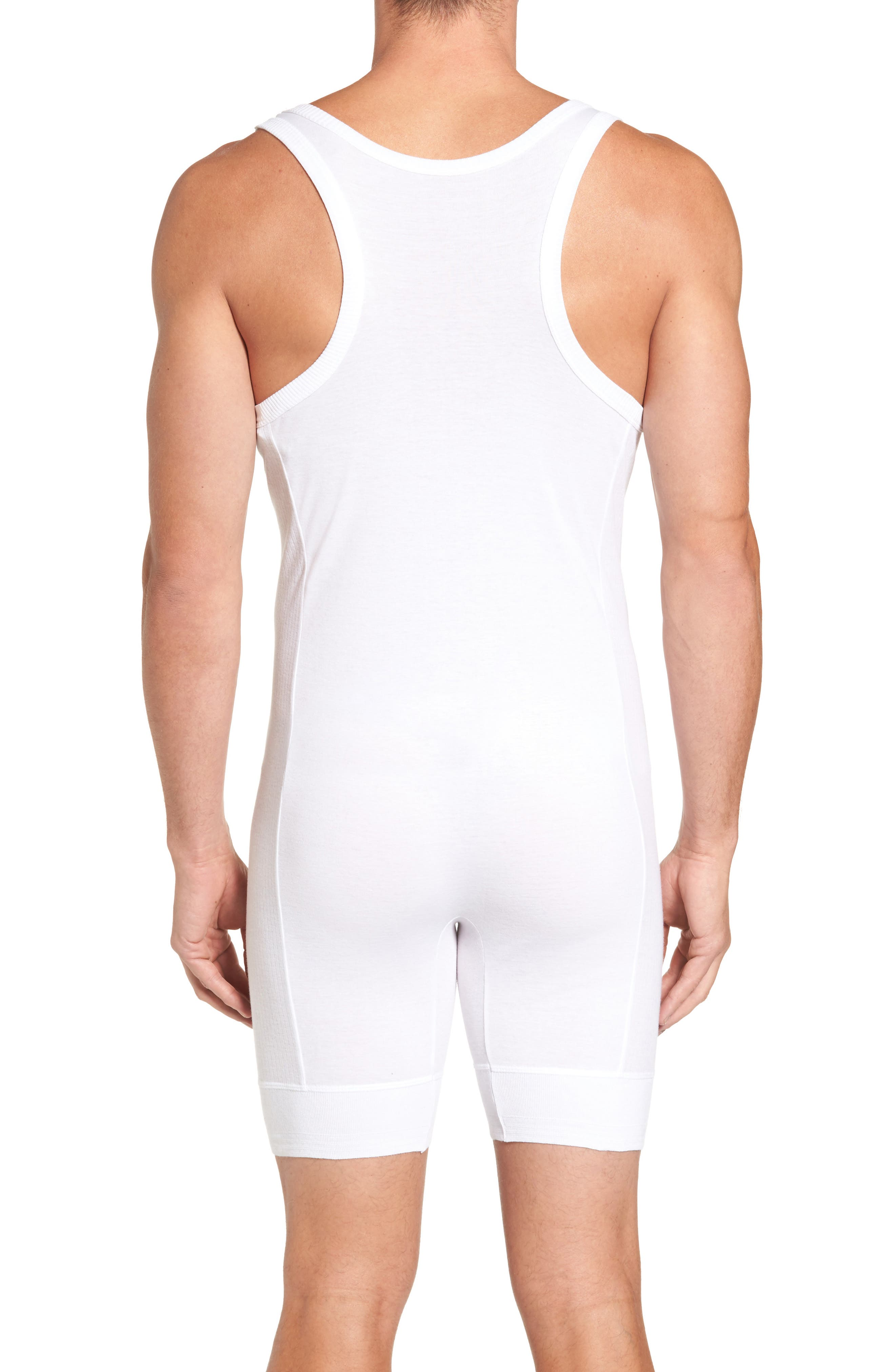 Alternate Image 2  - Calvin Klein 205W39NYC Ribbed Singlet